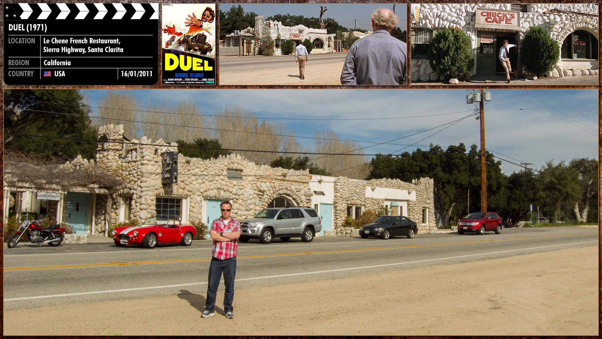 Filming location photo for Duel (1971) 1 of 5