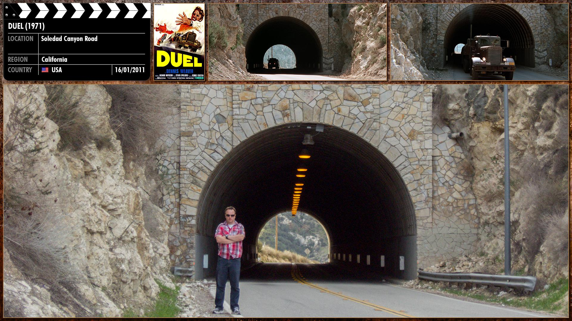 Filming location photo for Duel (1971) 4 of 5