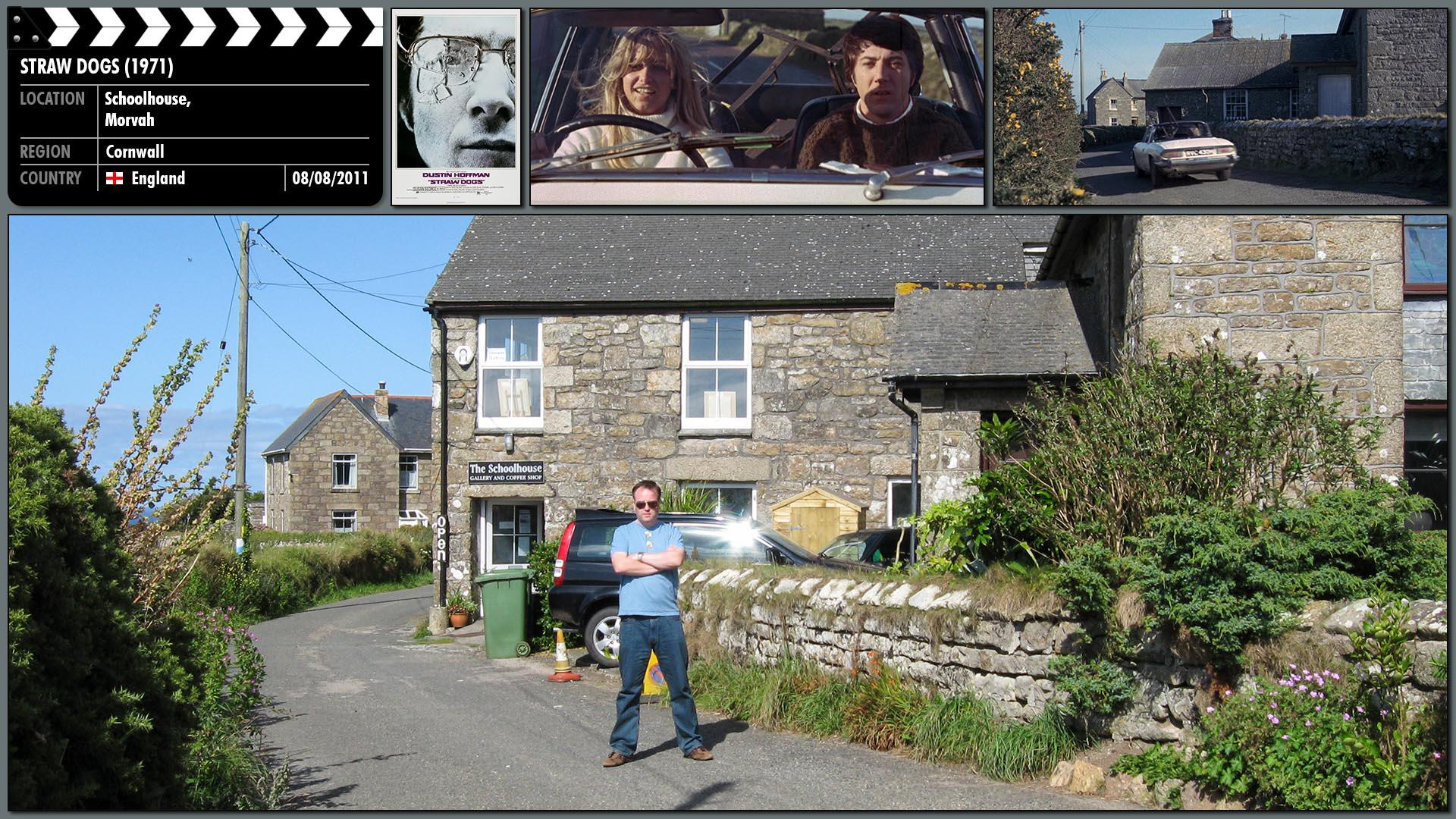 Filming location photo for Straw Dogs (1971) 7 of 9
