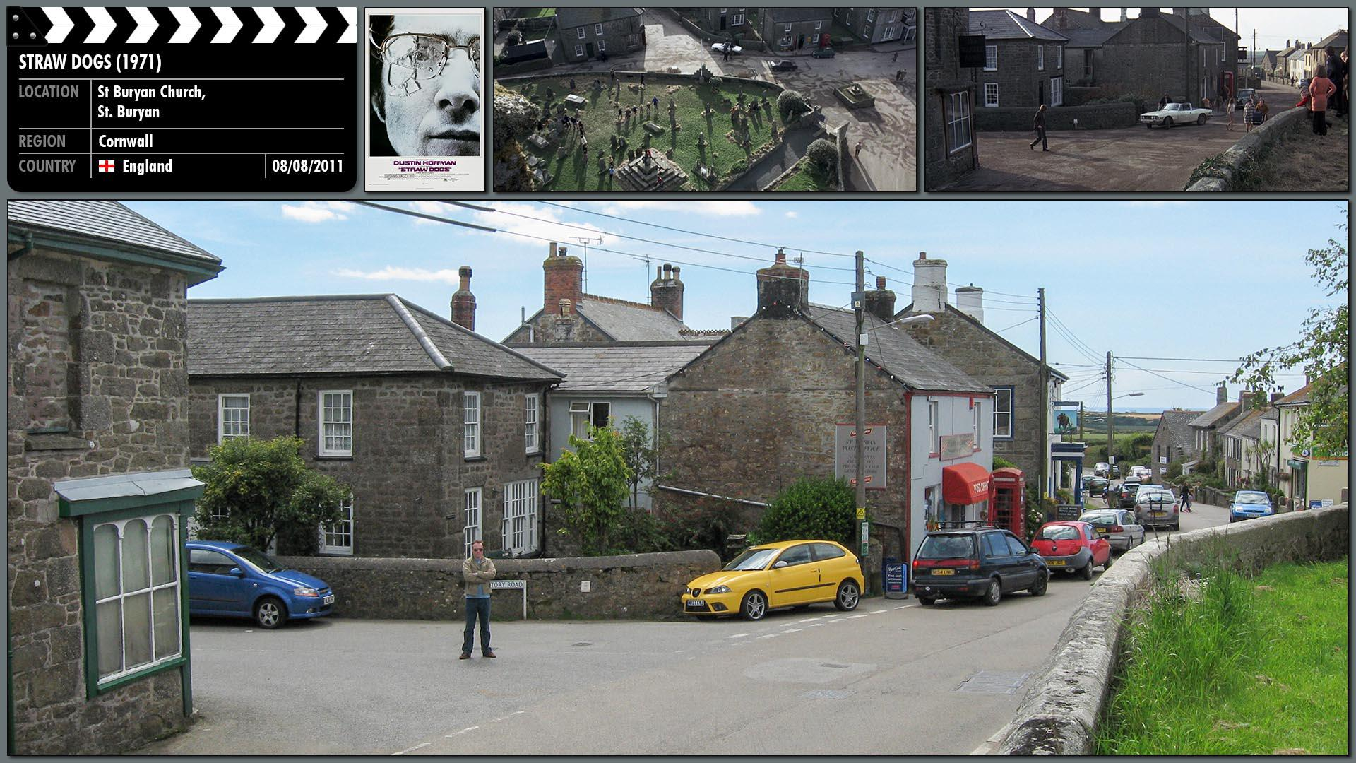 Filming location photo for Straw Dogs (1971) 9 of 9