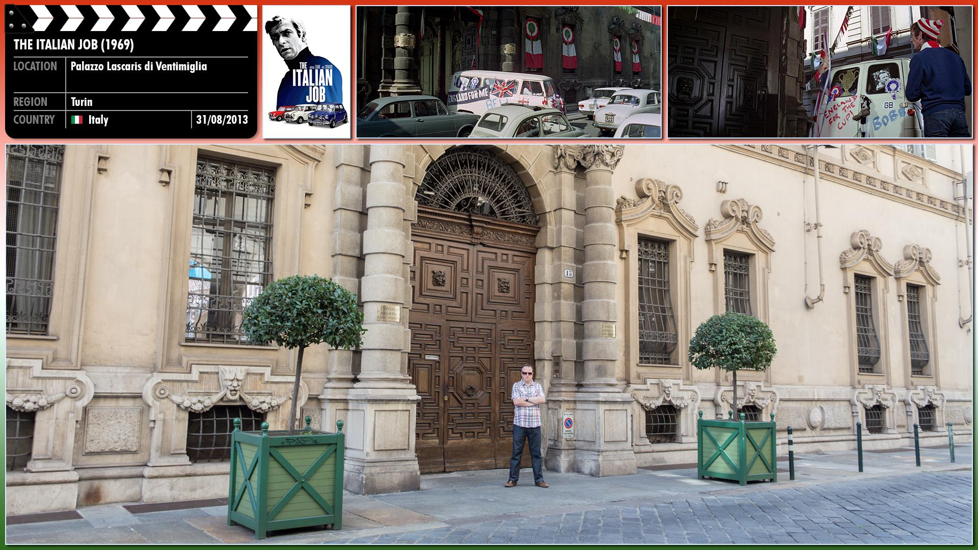 Filming location photo for The Italian Job (1969) 12 of 26