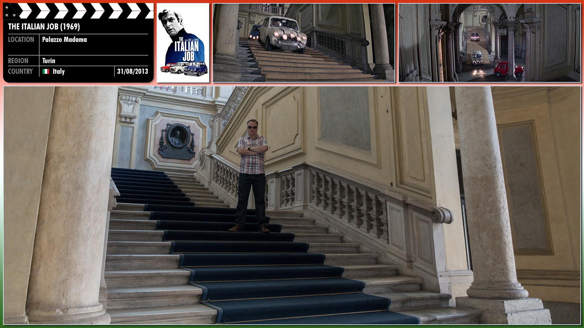 Filming location photo for The Italian Job (1969) 11 of 26