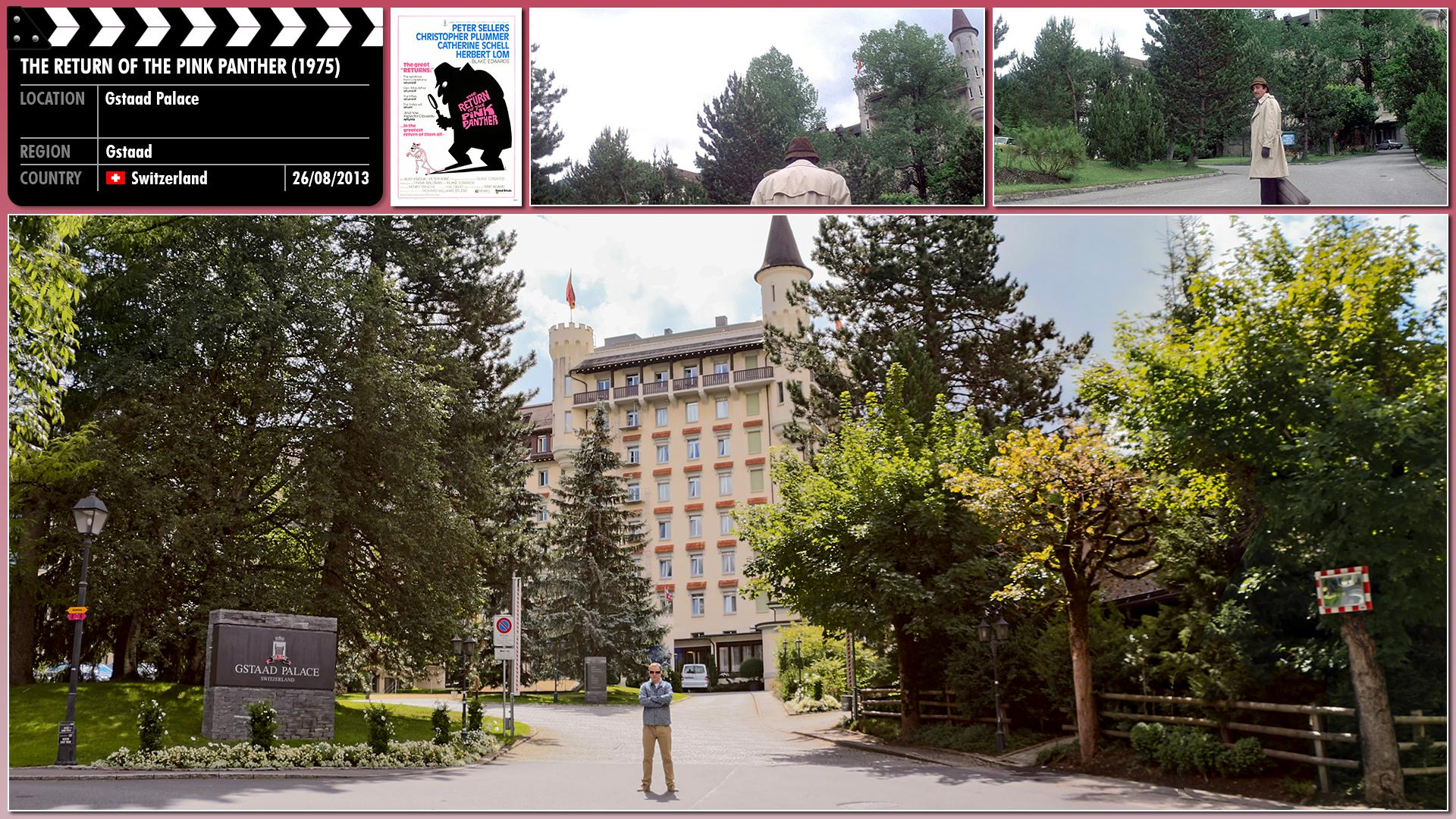 Filming location photo for The Return of the Pink Panther (1975) 1 of 3