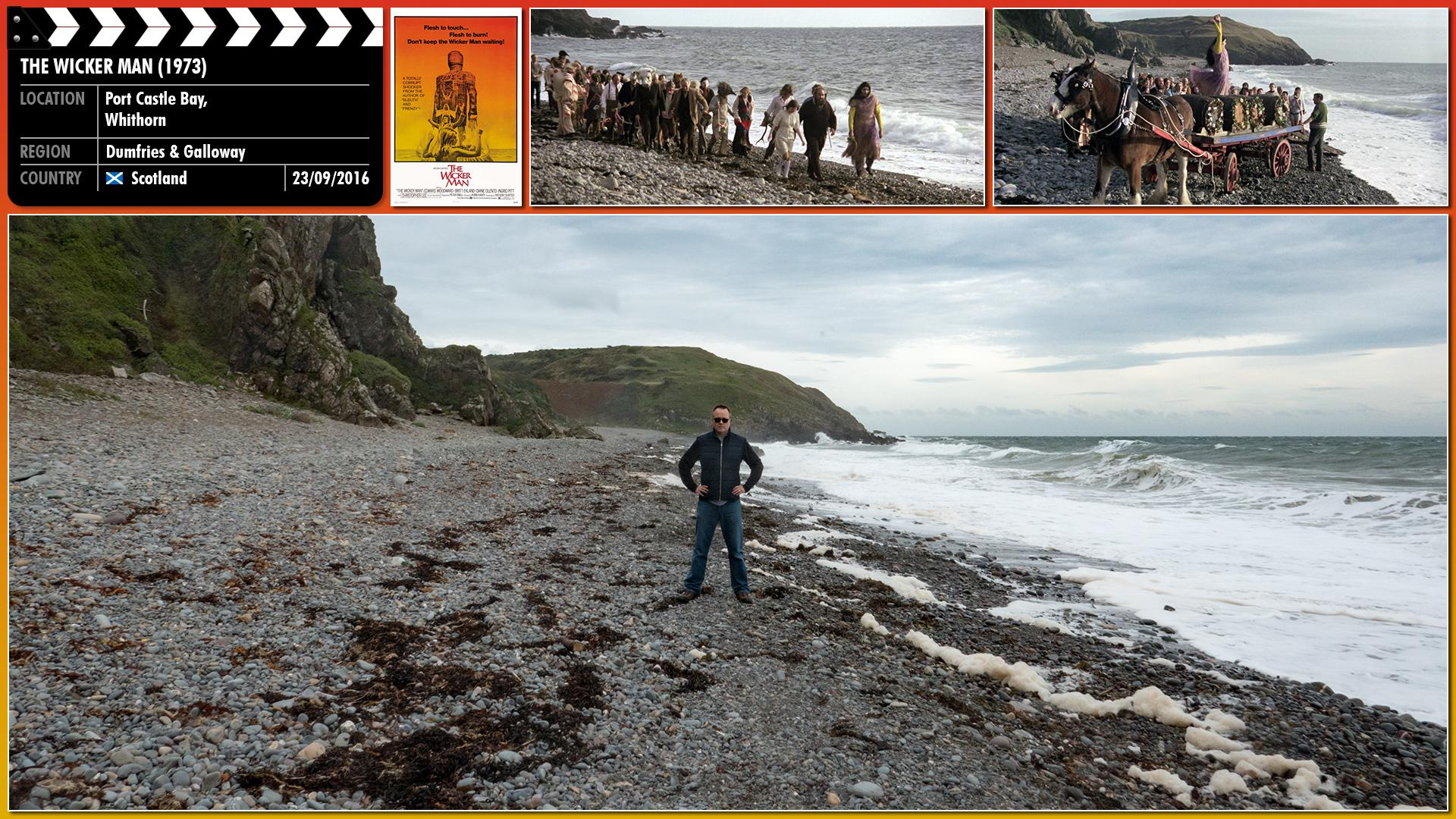 Filming location photo for The Wicker Man (1973) 5 of 7