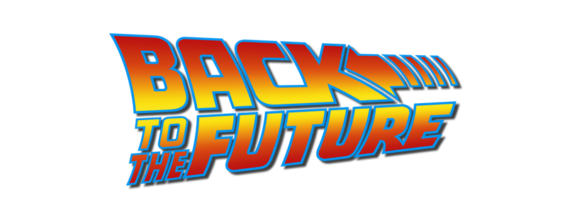 Logo for Back to the Future (1985)