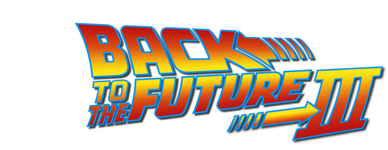 Logo for Back to the Future Part III (1990)