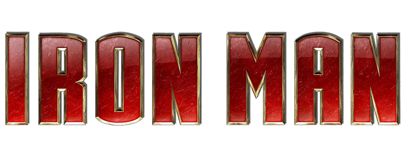 Logo for Iron Man (2008)
