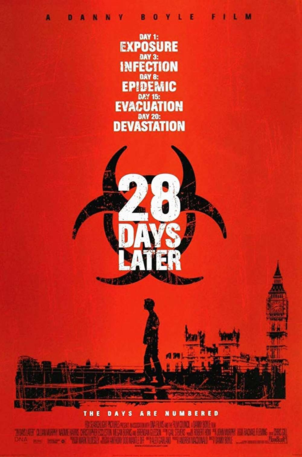 Poster for 28 Days Later (2002)
