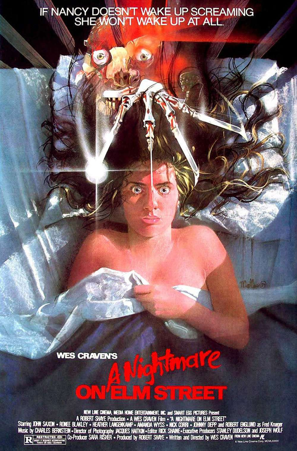 Poster for A Nightmare on Elm Street (1984)