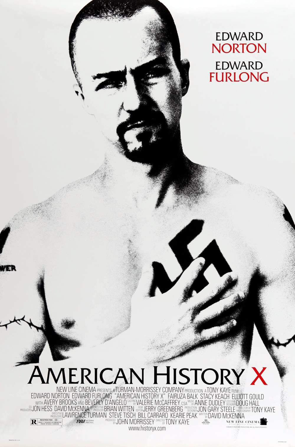 Poster for American History X (1998)