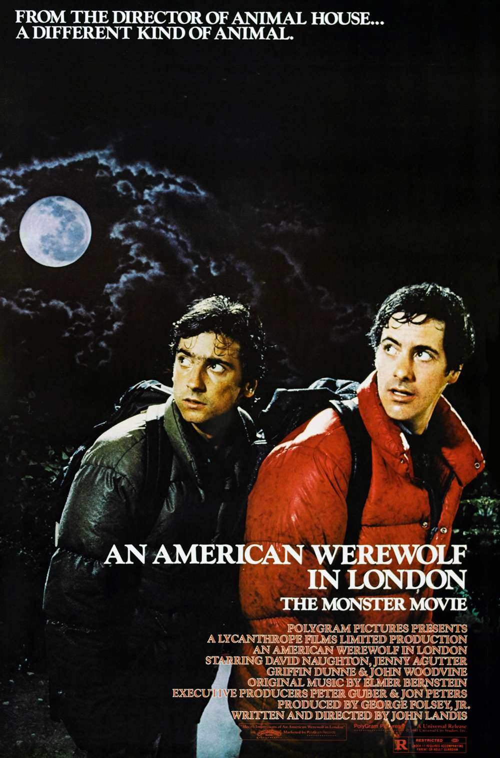 Poster for An American Werewolf in London (1981)