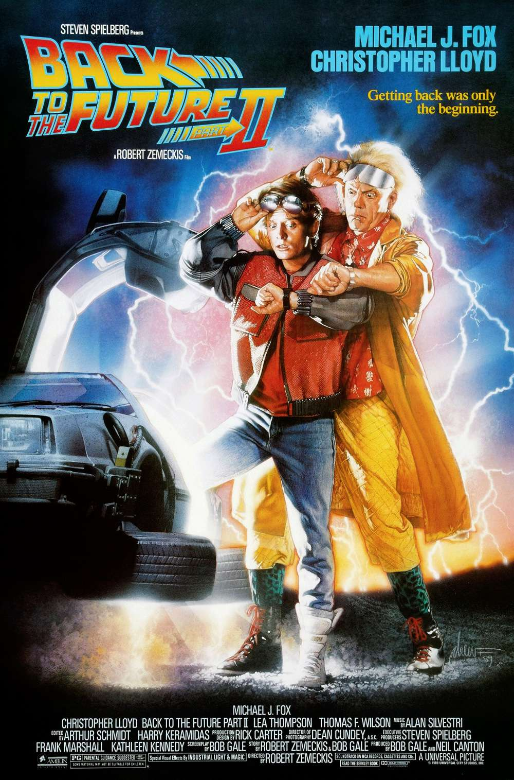Poster for Back to the Future Part II (1989)