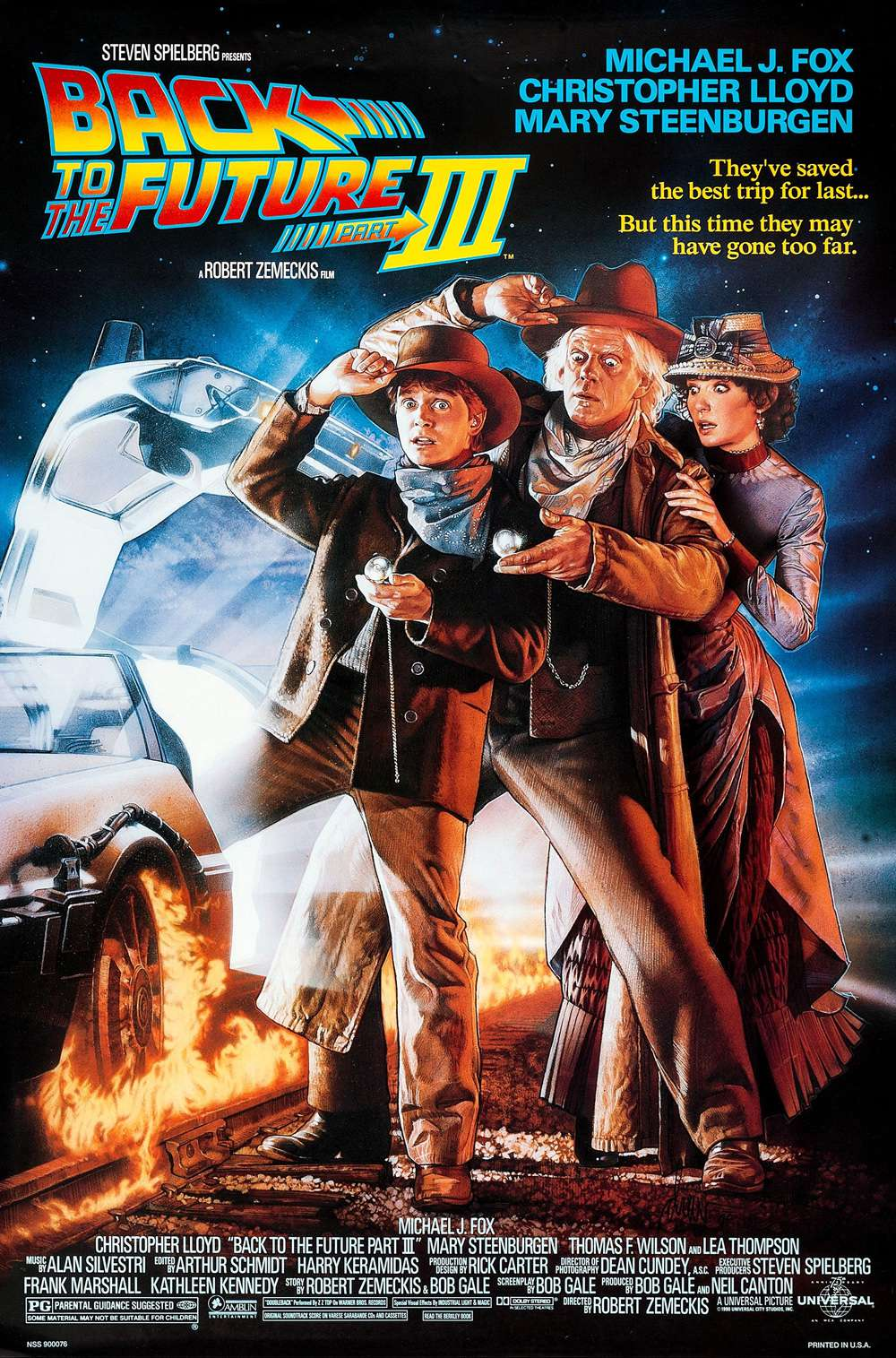 Poster for Back to the Future Part III (1990)