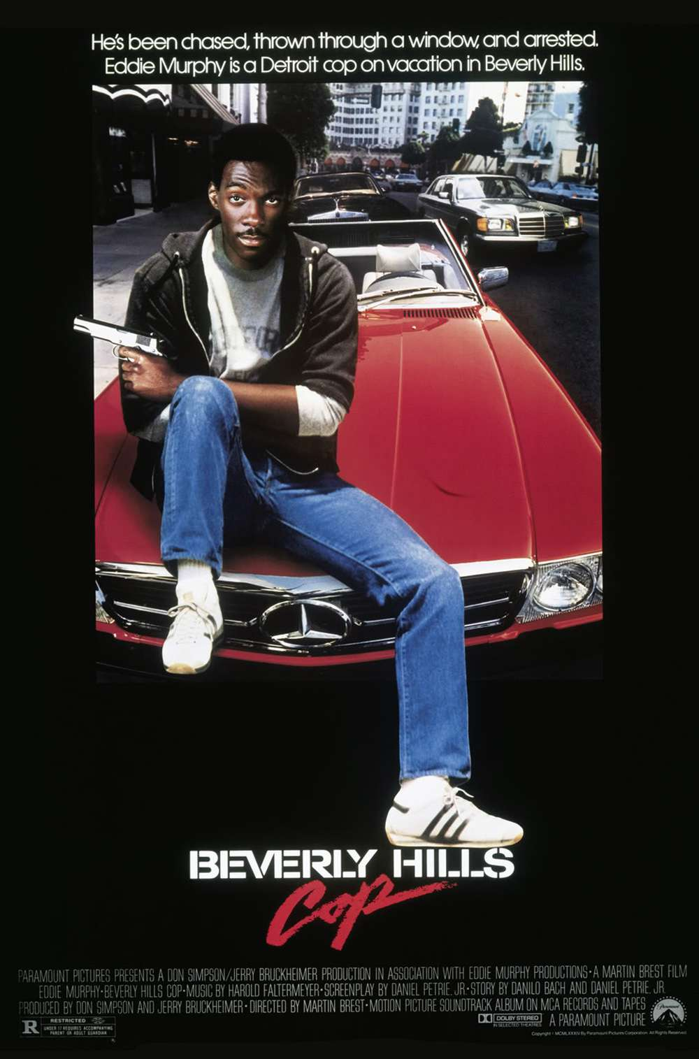 Poster for Beverly Hills Cop (1984)