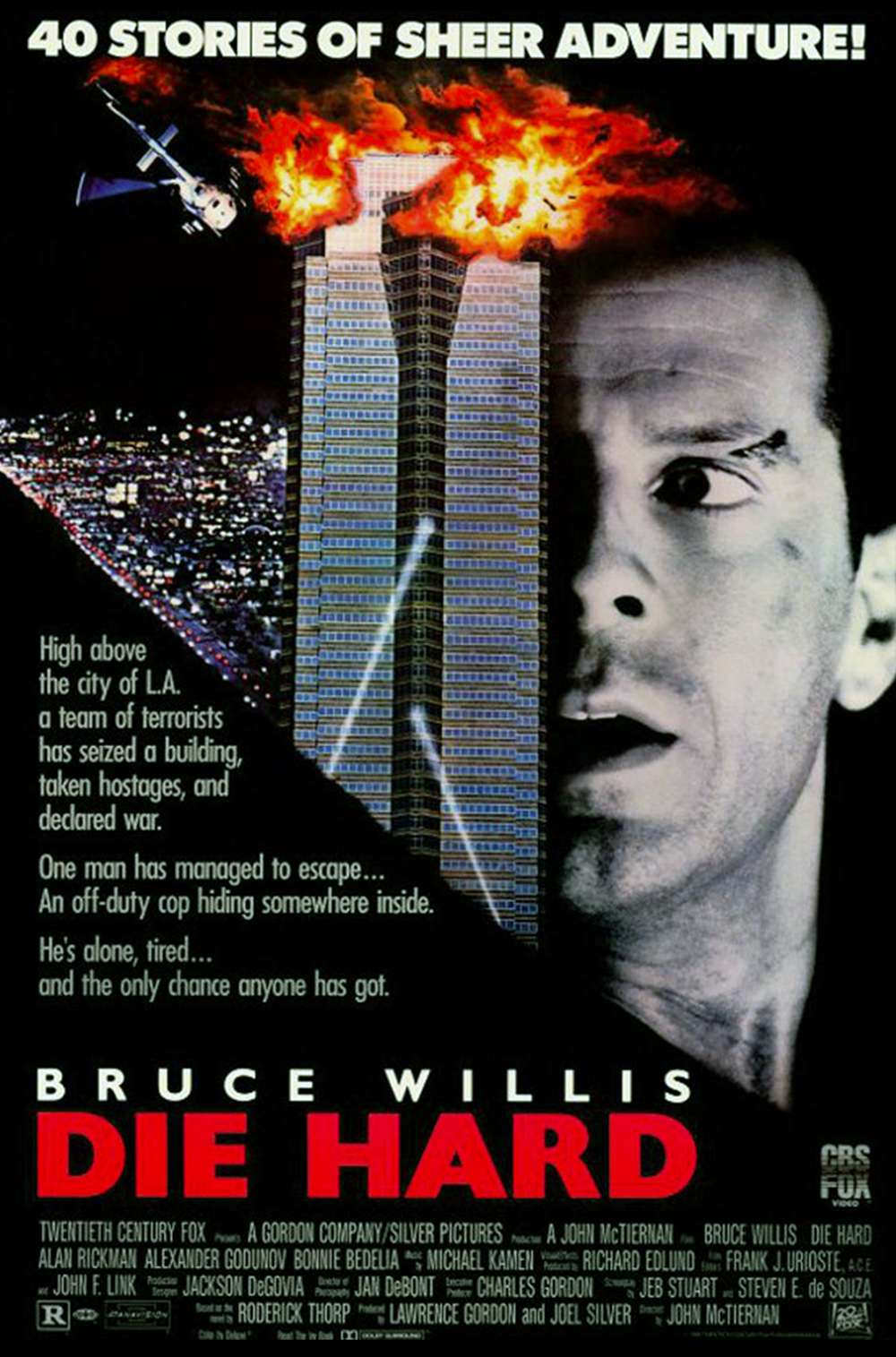 Poster for Die Hard (1988)