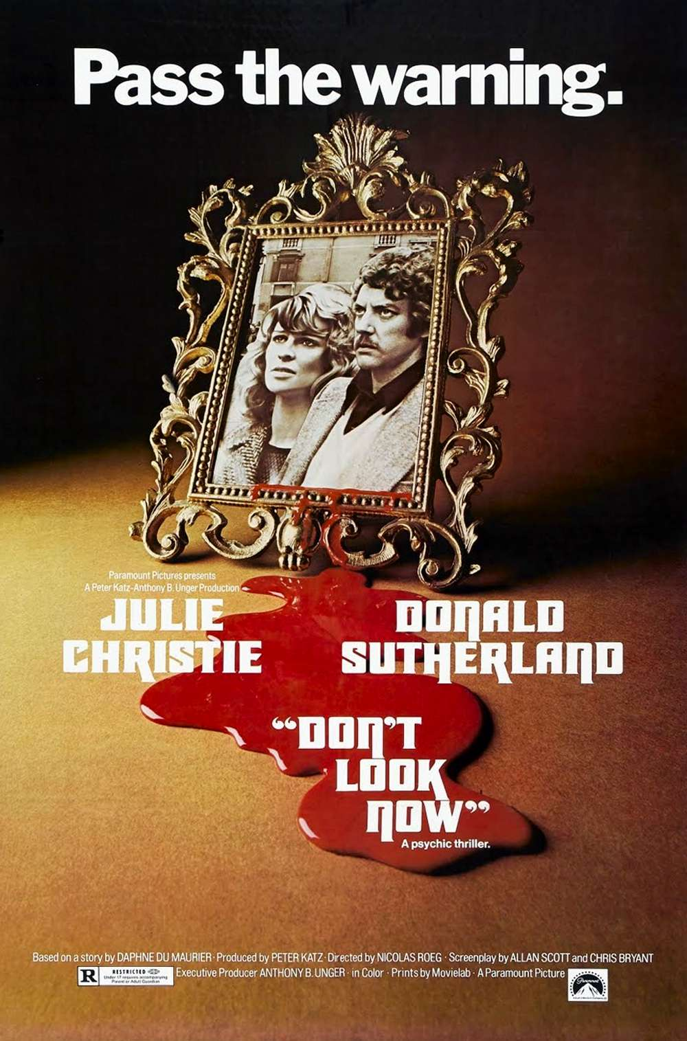 Poster for Don't Look Now (1973)