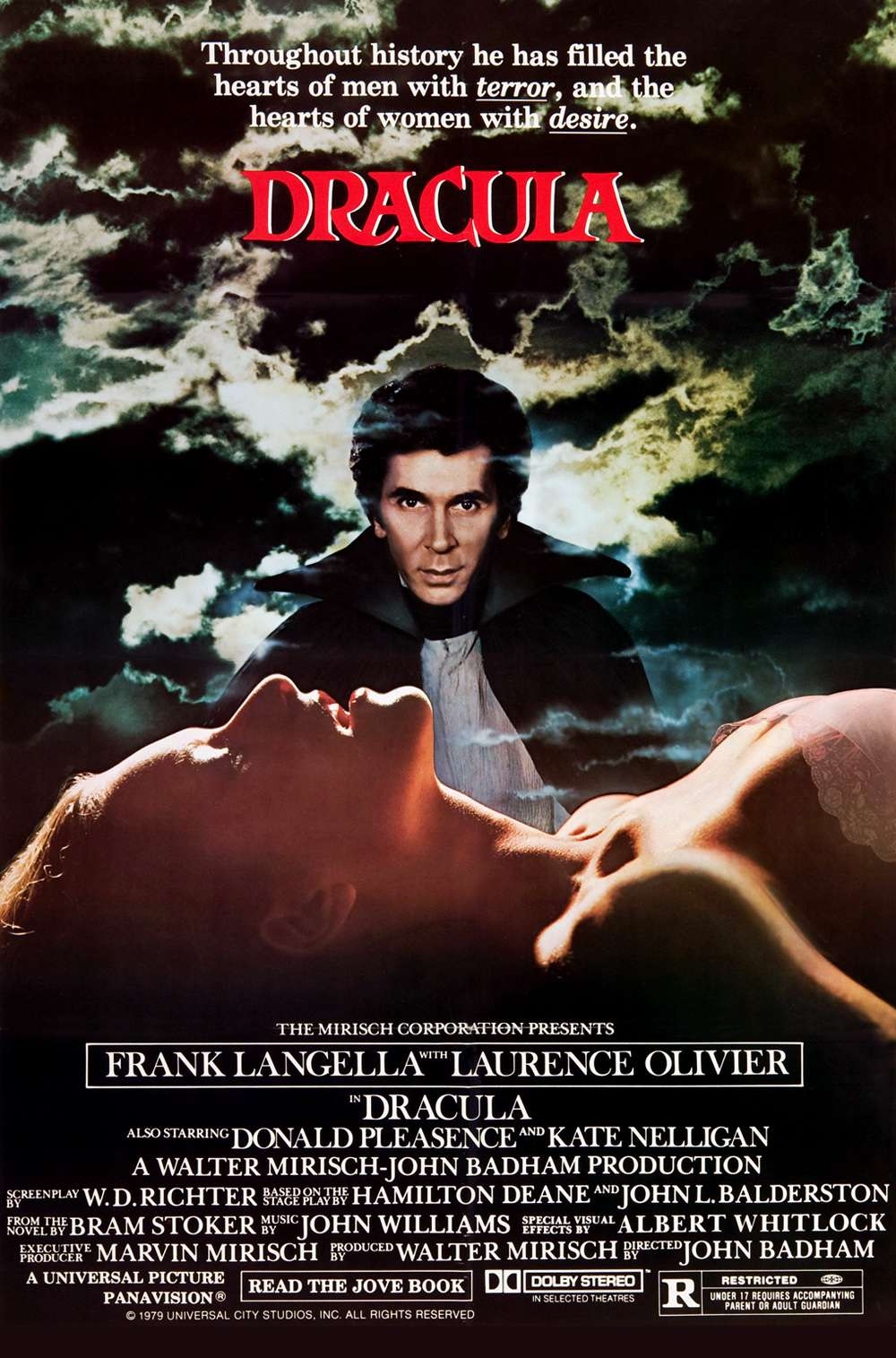 Poster for Dracula (1979)