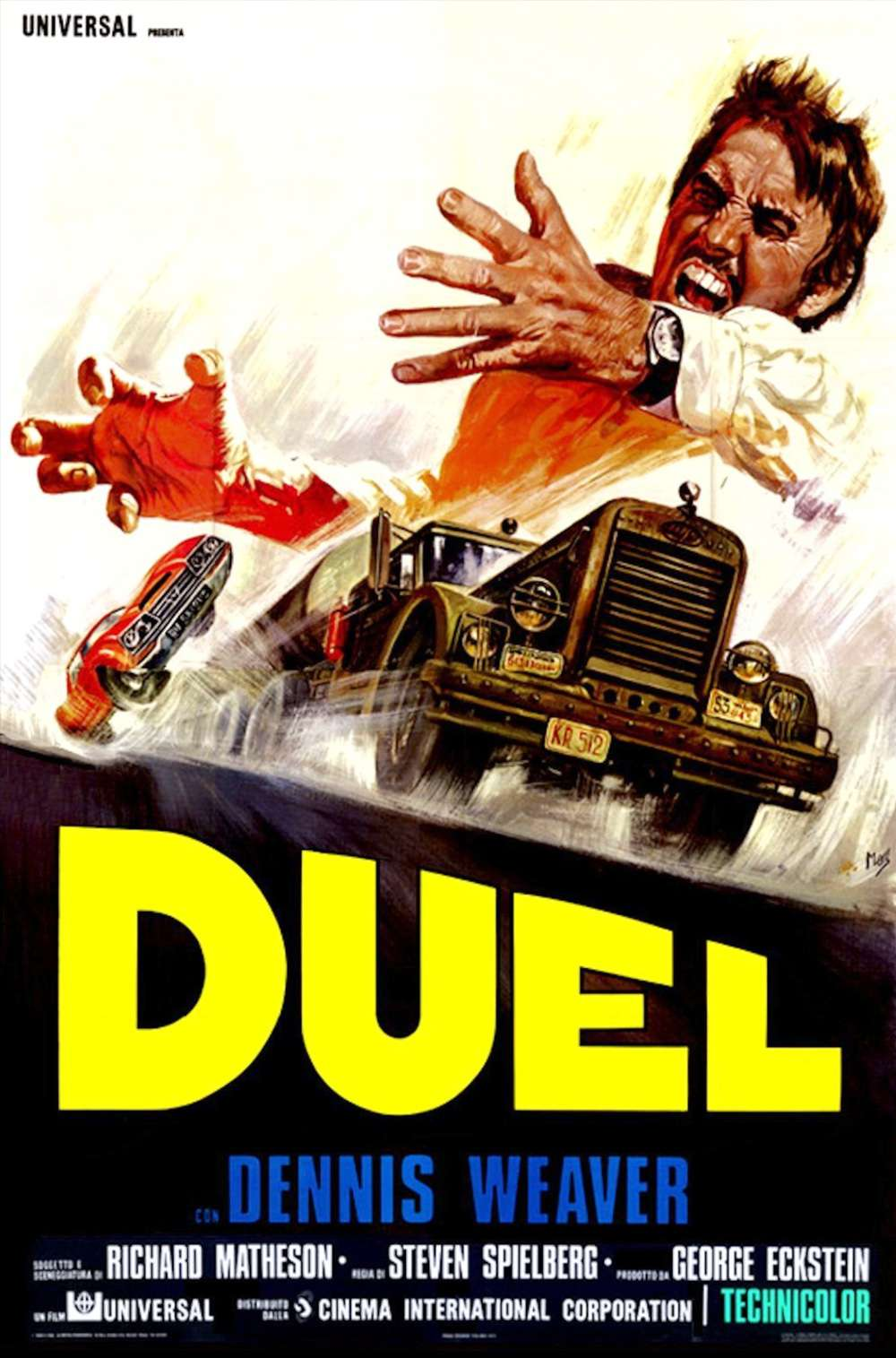 Poster for Duel (1971)