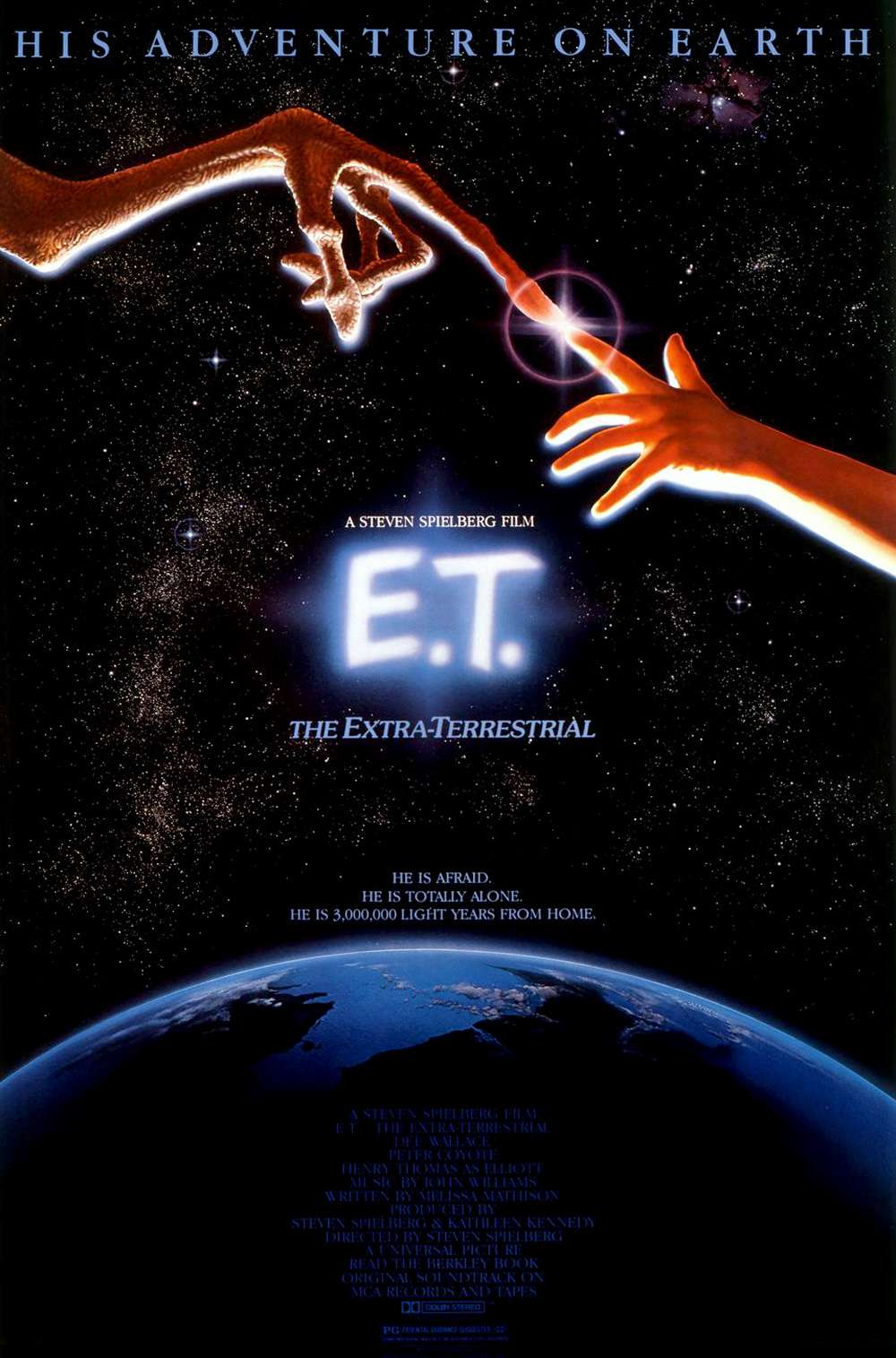 Poster for E.T. the Extra-Terrestrial (1982)