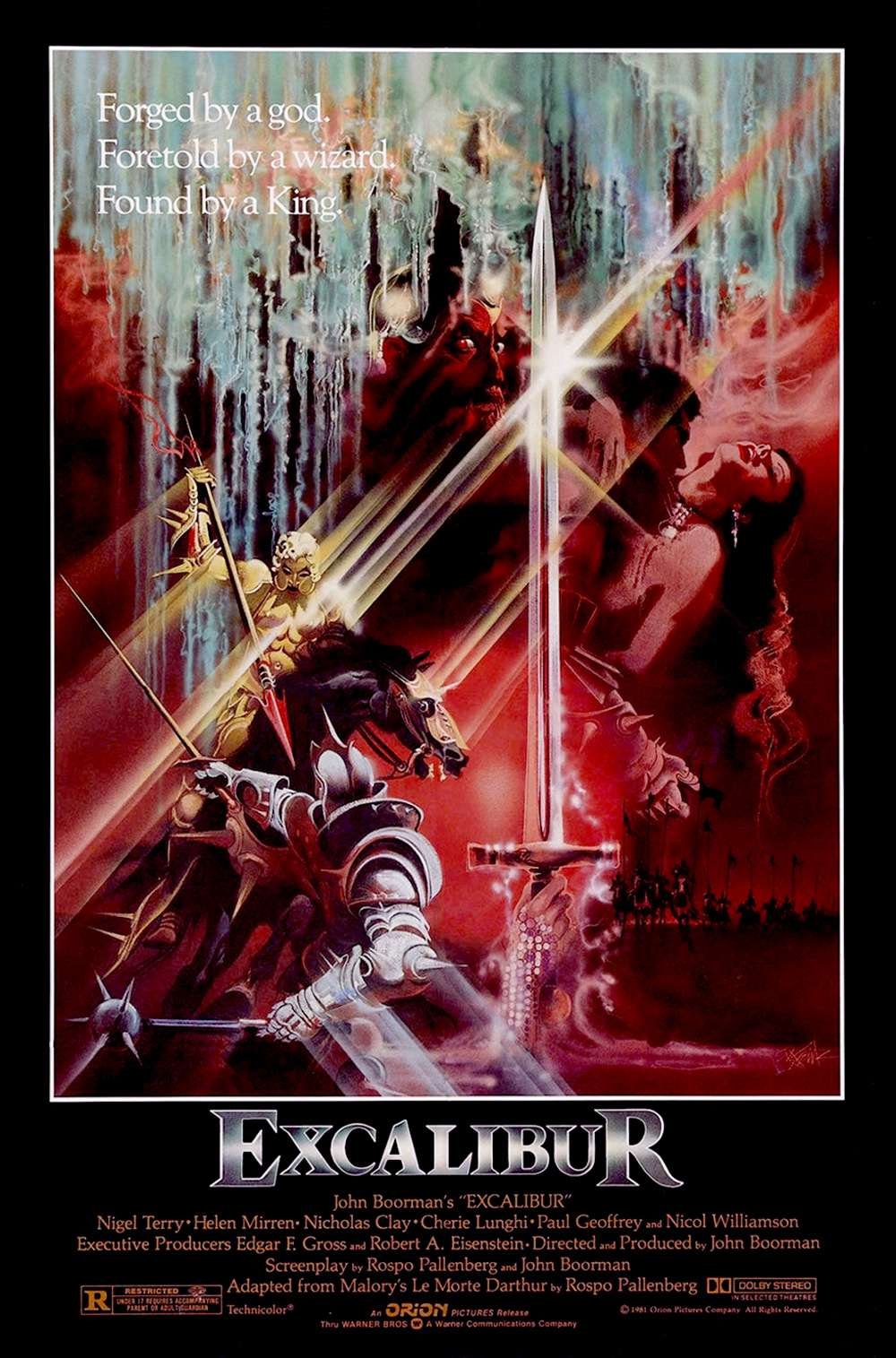 Poster for Excalibur (1981)