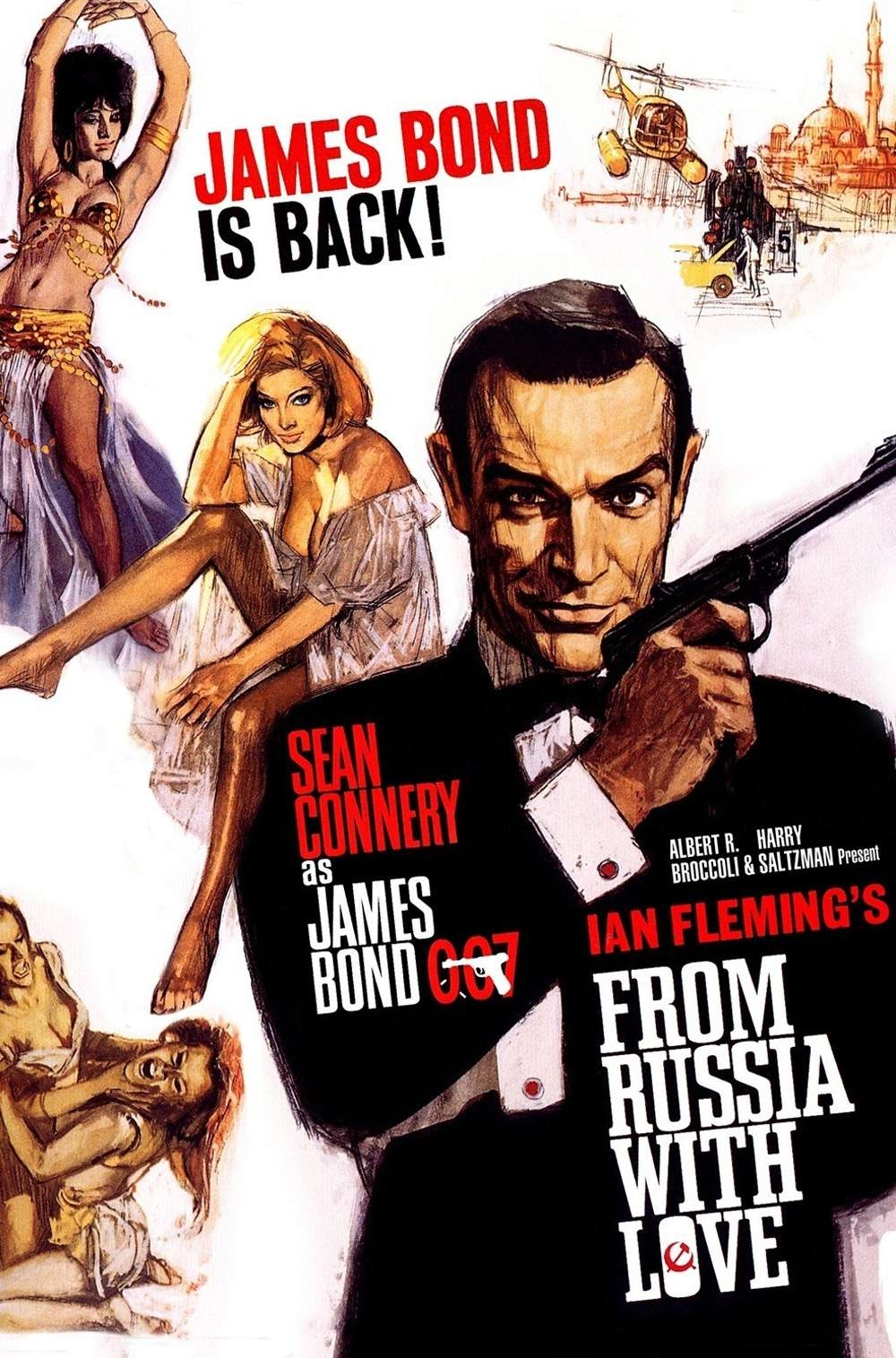 Poster for From Russia with Love (1963)