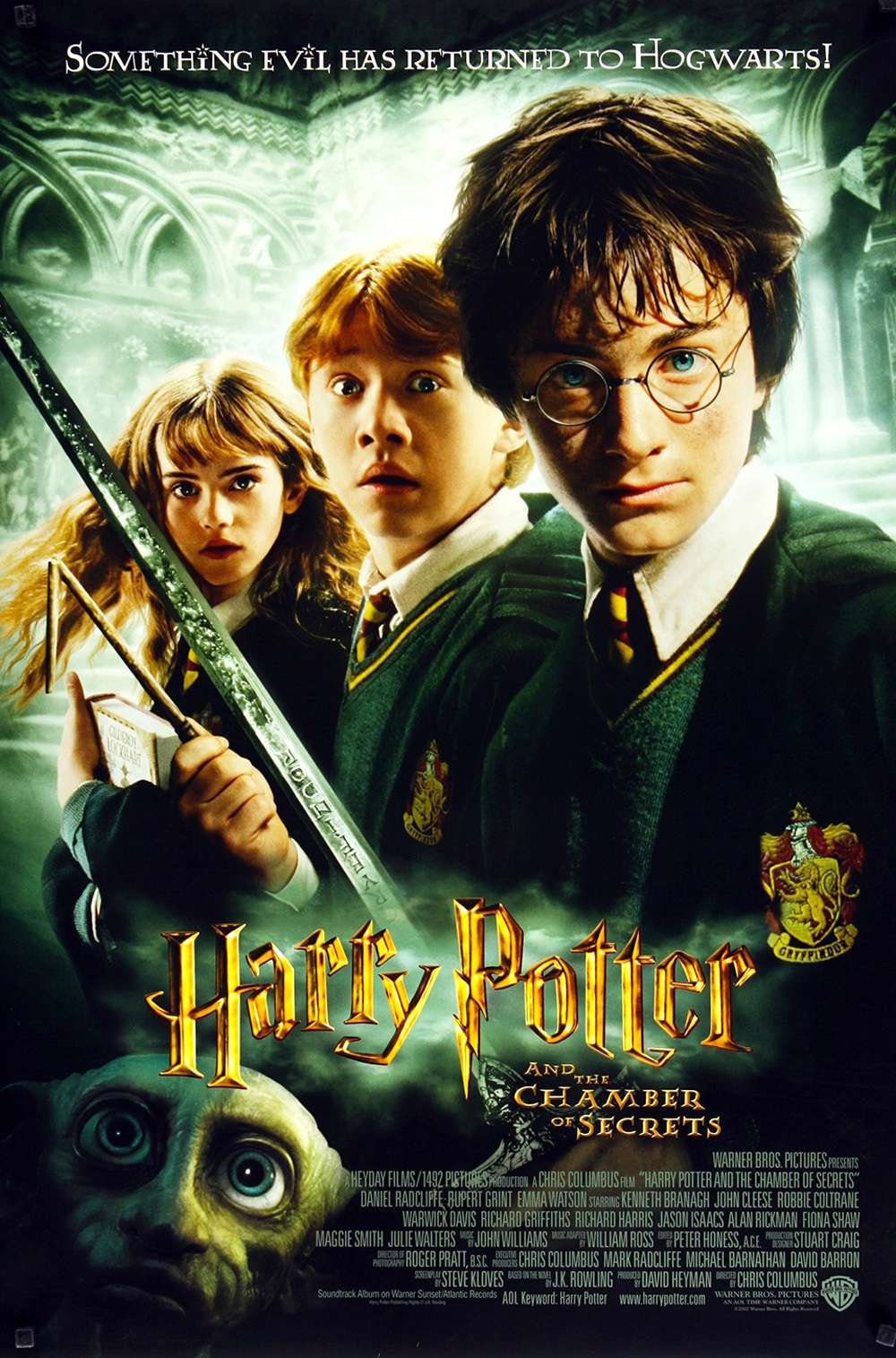 Poster for Harry Potter and the Chamber of Secrets (2002)