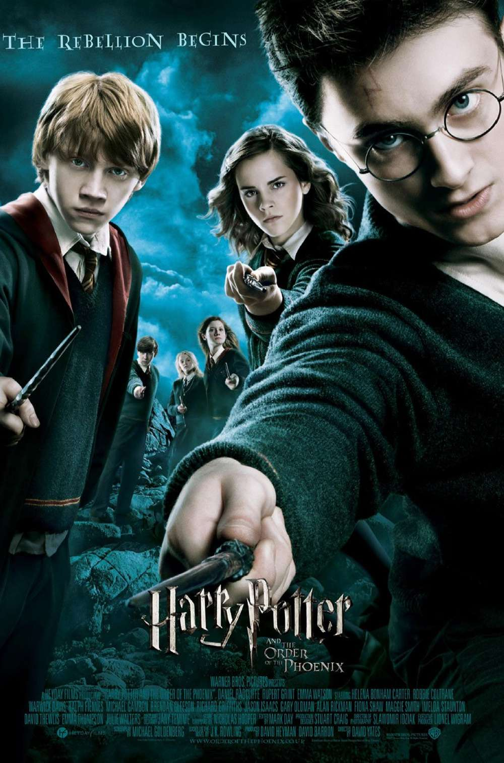 Poster for Harry Potter and the Order of the Phoenix (2007)