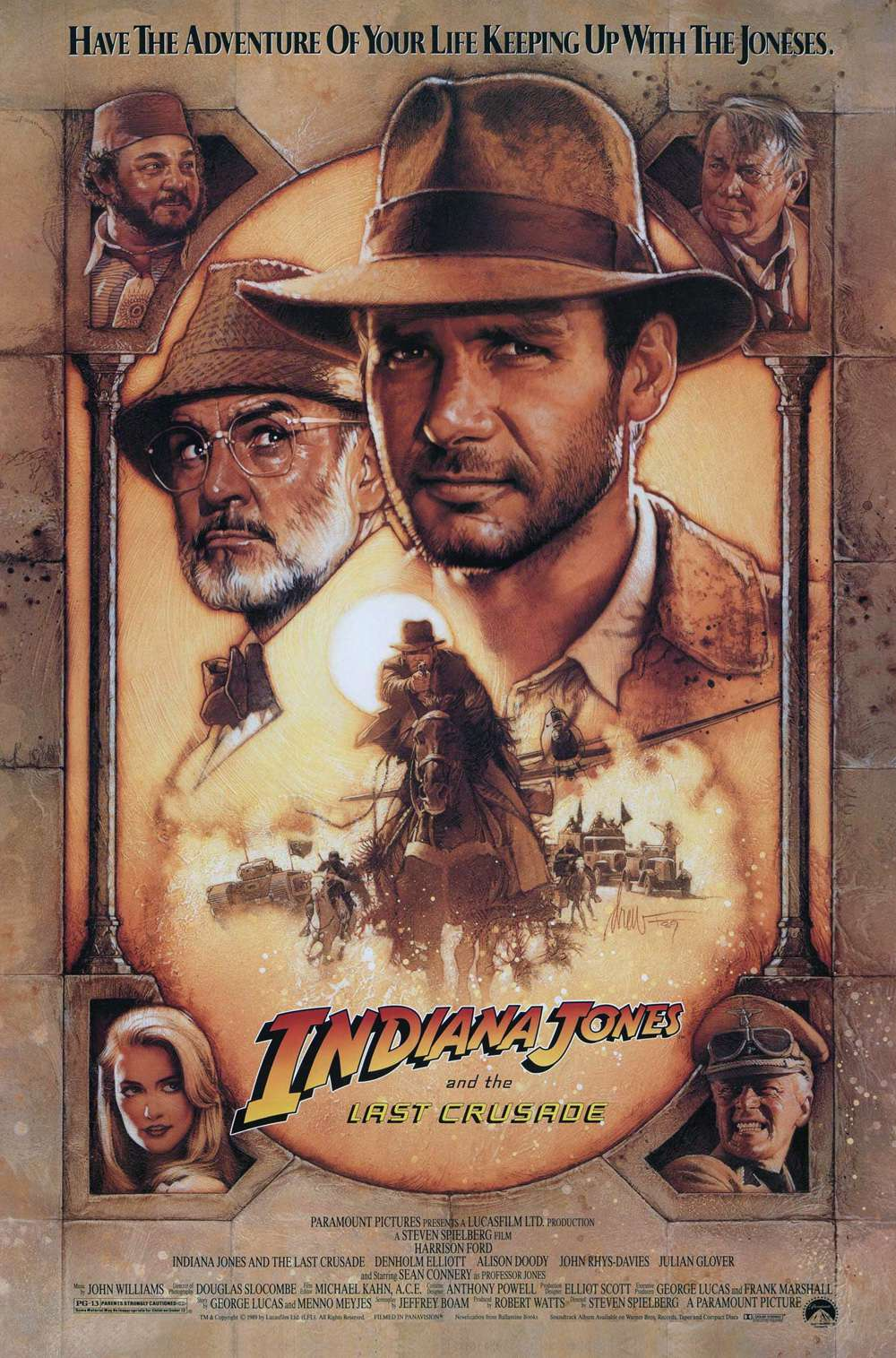 Poster for Indiana Jones and the Last Crusade (1989)