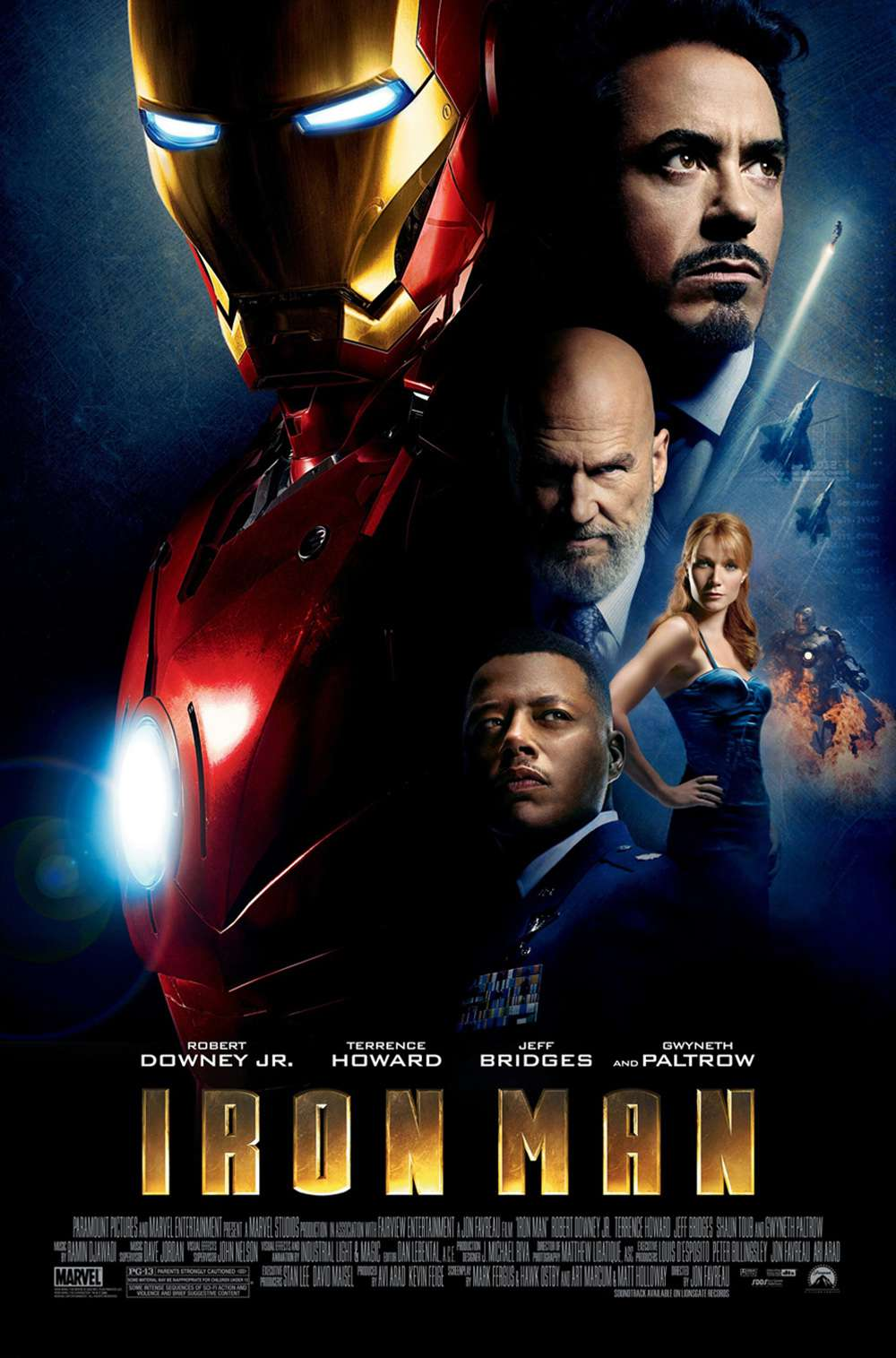 Poster for Iron Man (2008)