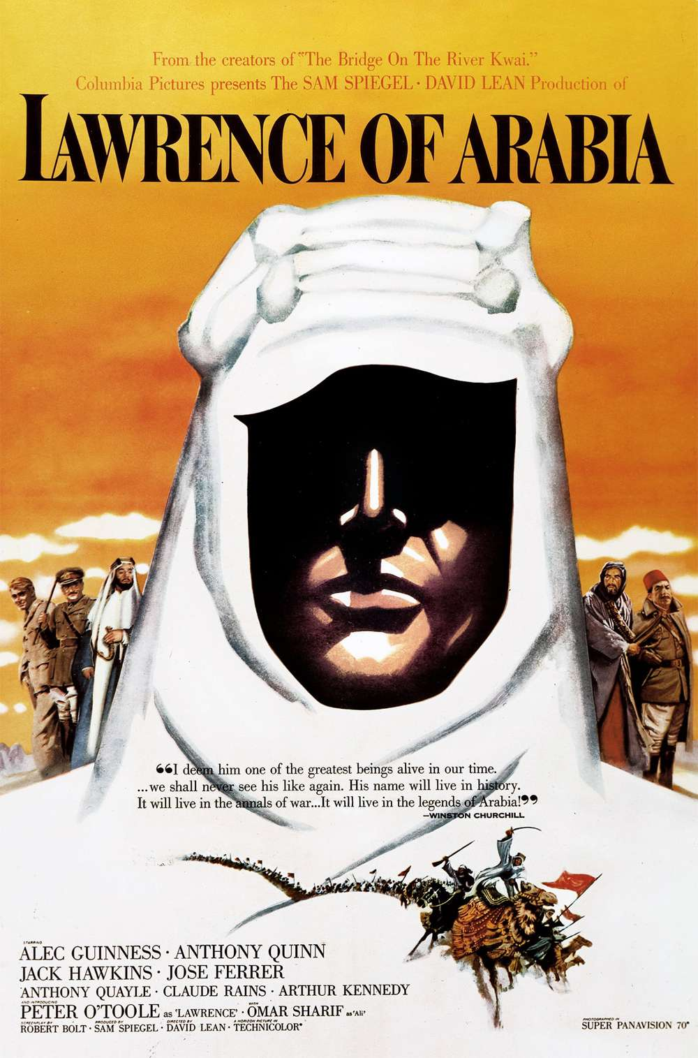 Poster for Lawrence of Arabia (1962)