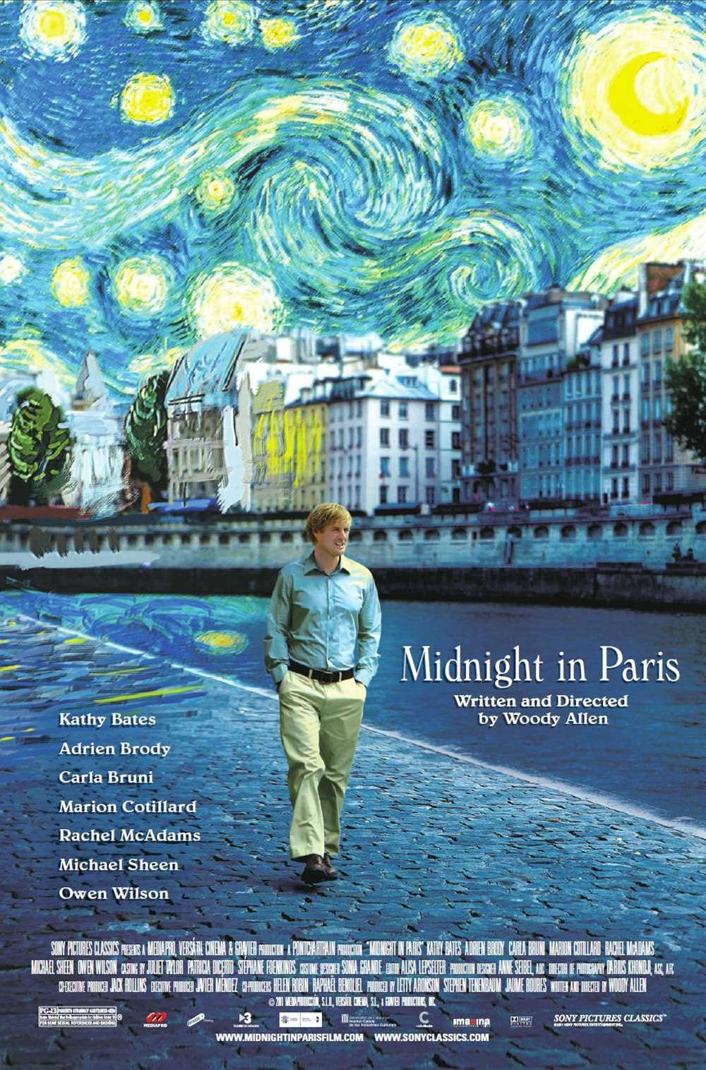 Poster for Midnight in Paris (2011)