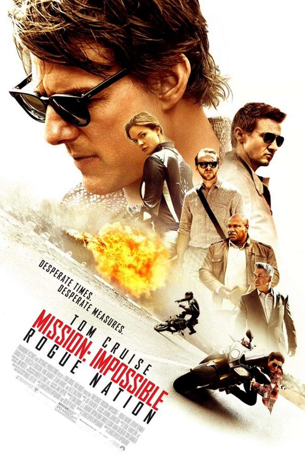 Poster for Mission: Impossible - Rogue Nation (2015)