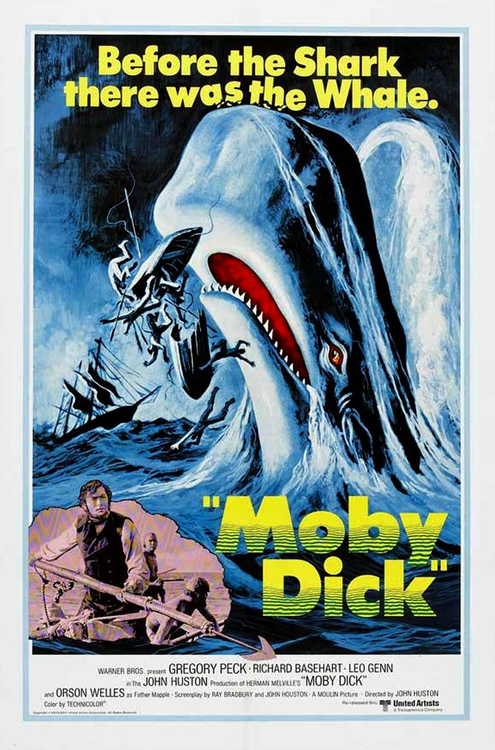 Poster for Moby Dick (1956)