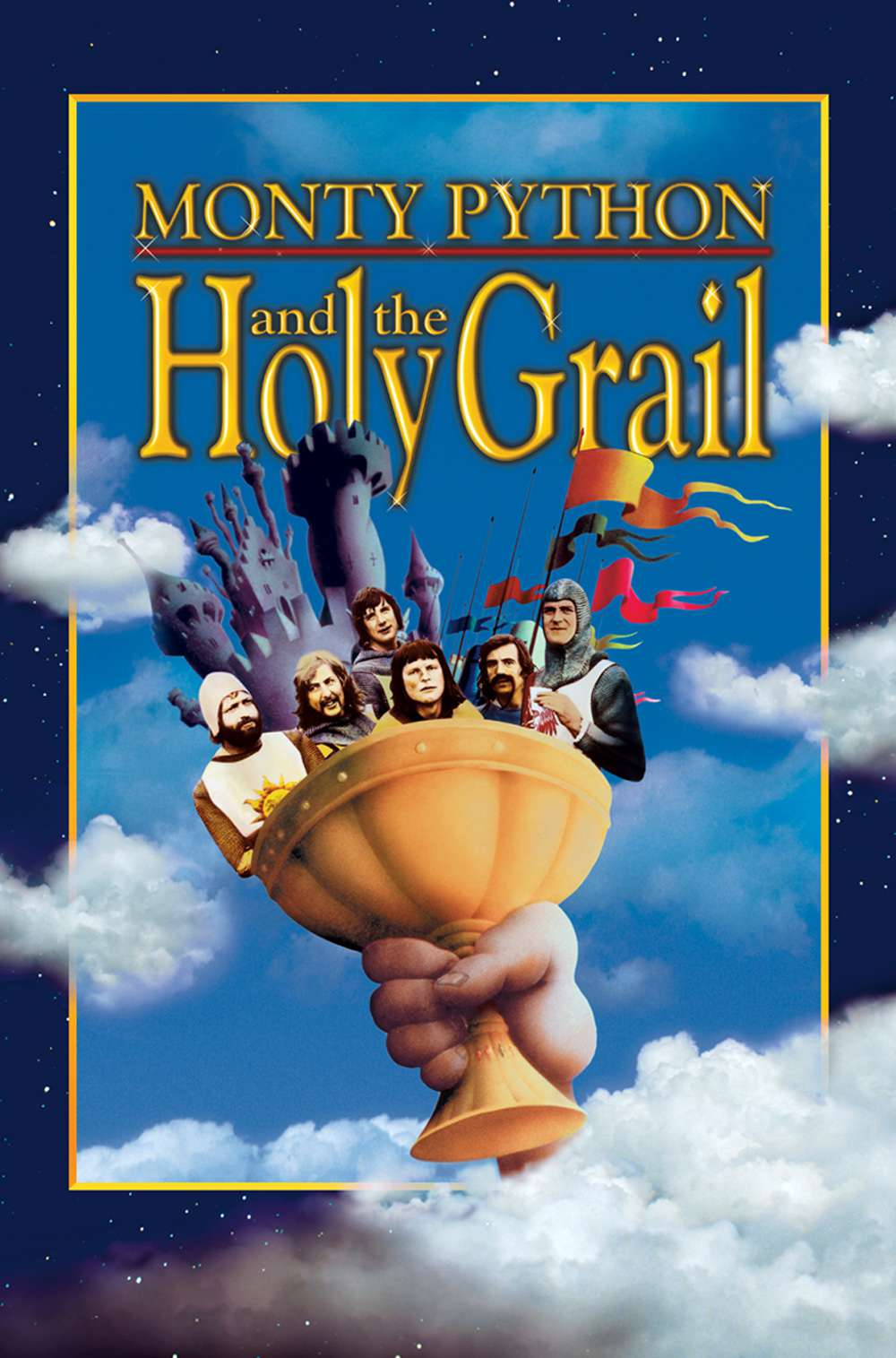 Poster for Monty Python and the Holy Grail (1975)