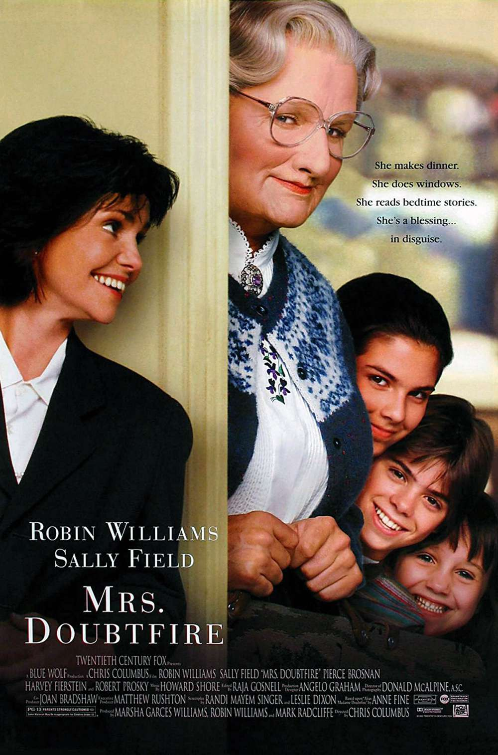 Poster for Mrs. Doubtfire (1993)