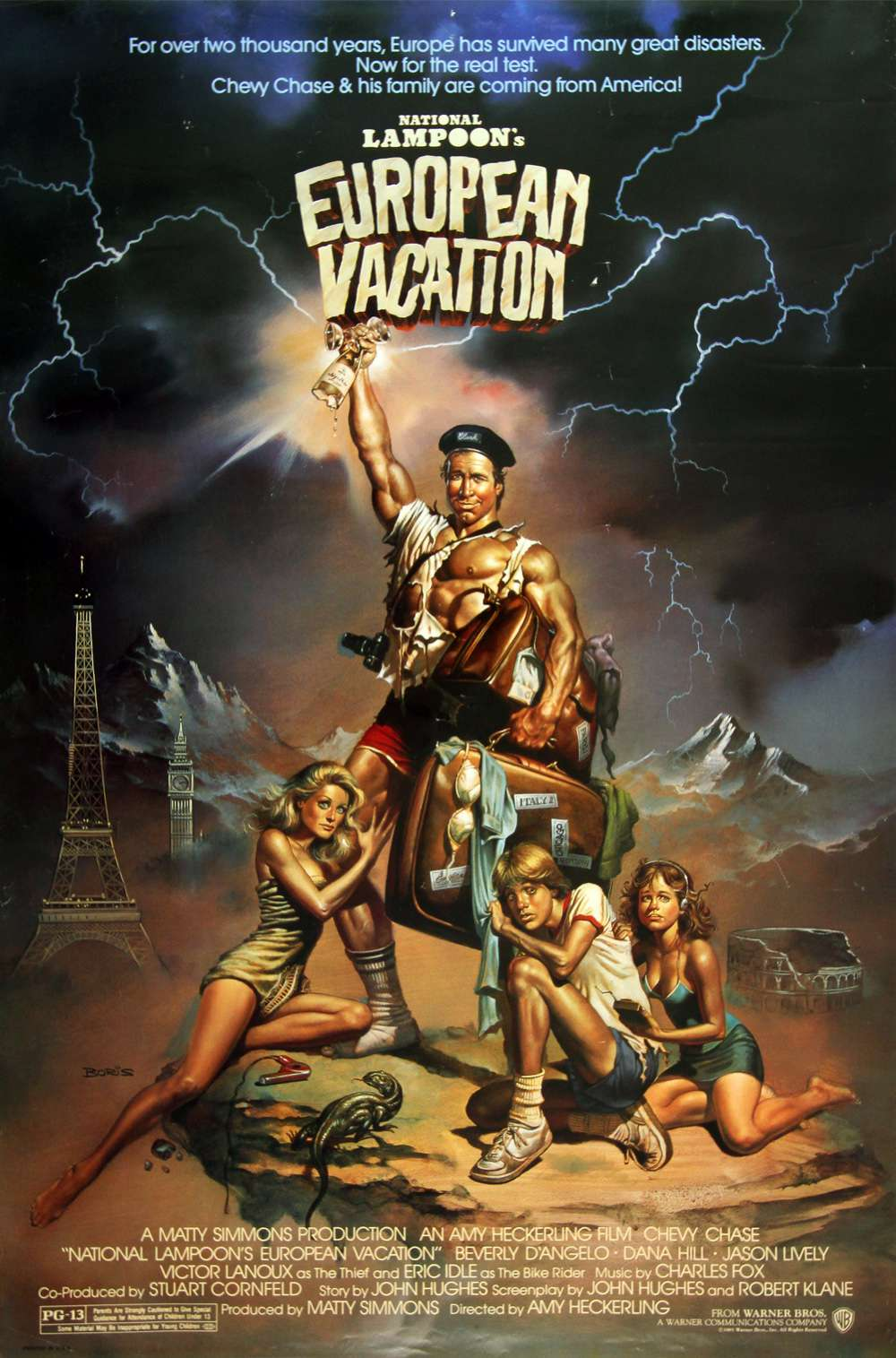 Poster for National Lampoon's European Vacation (1985)