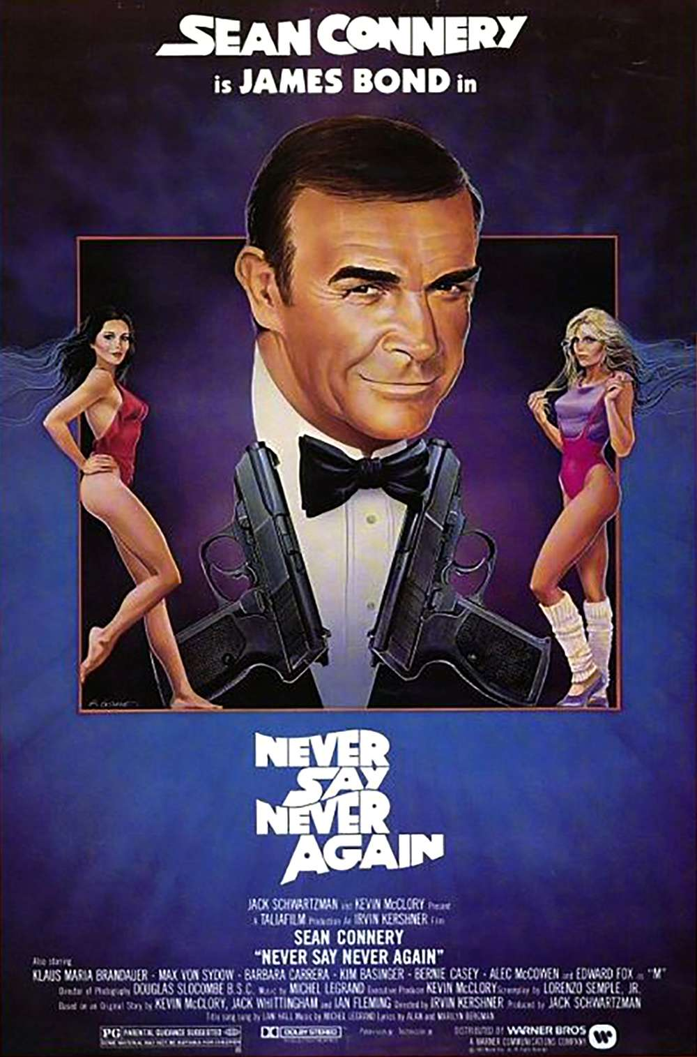 Poster for Never Say Never Again (1983)