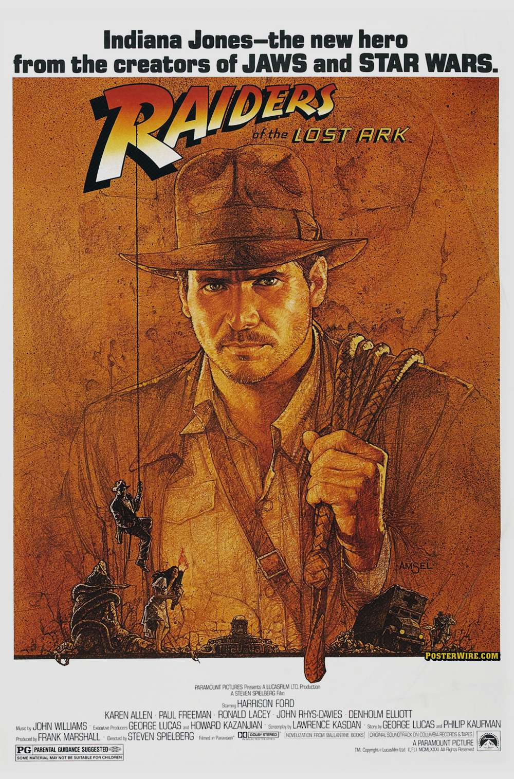 Poster for Raiders of the Lost Ark (1981)
