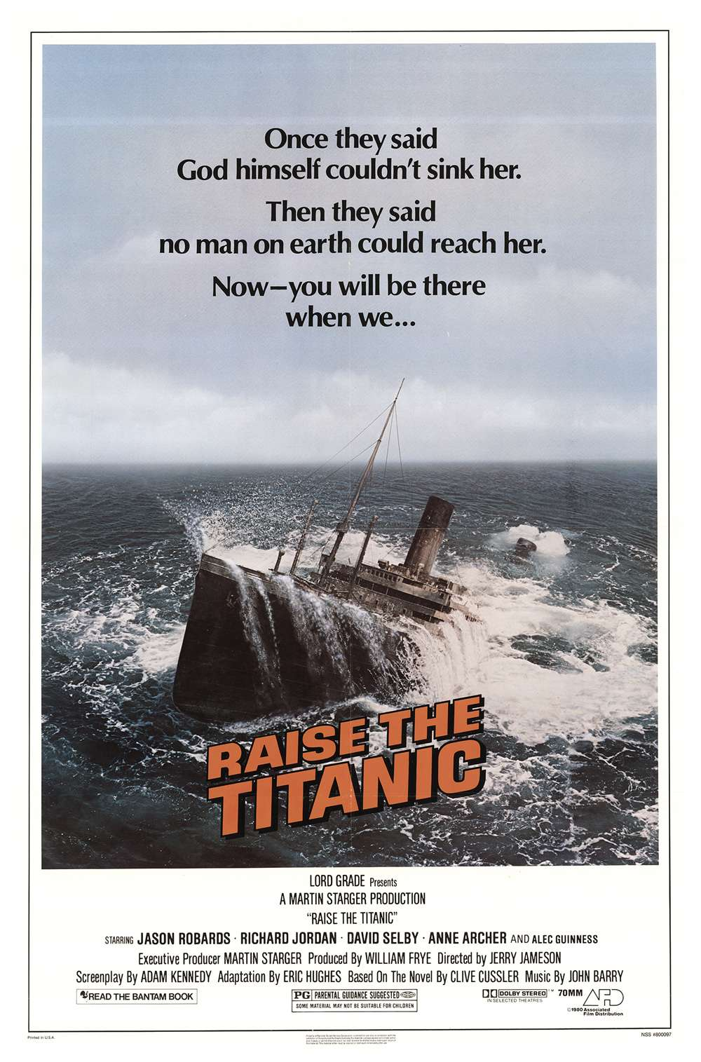 Poster for Raise the Titanic (1980)