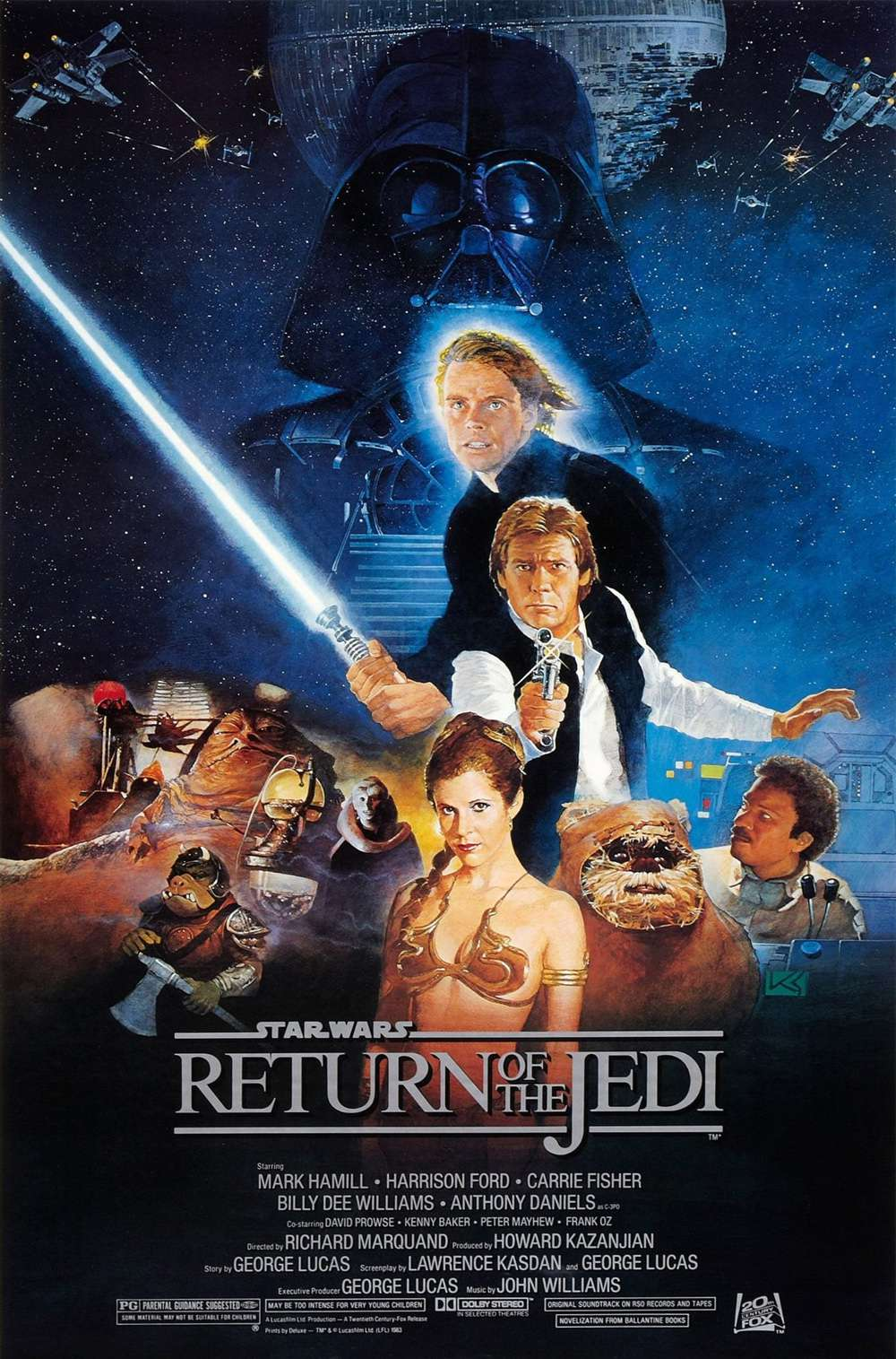 Poster for Return of the Jedi (1983)