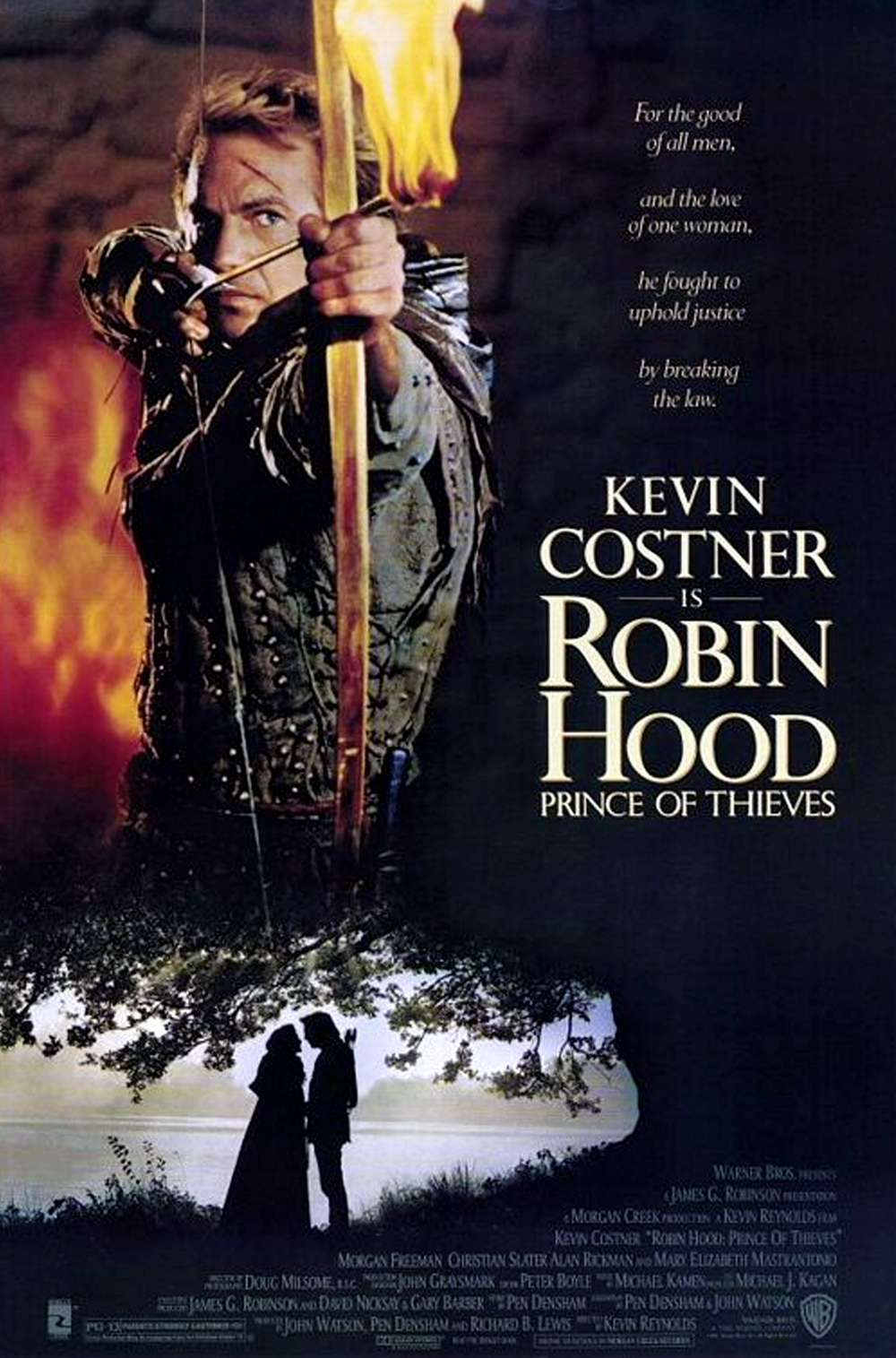 Poster for Robin Hood: Prince of Thieves (1991)