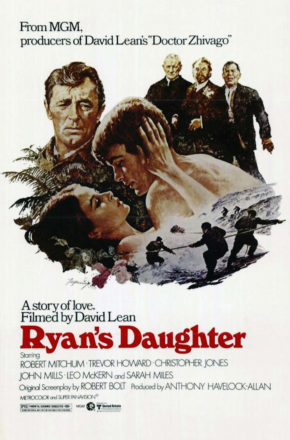 Poster for Ryan's Daughter (1970)