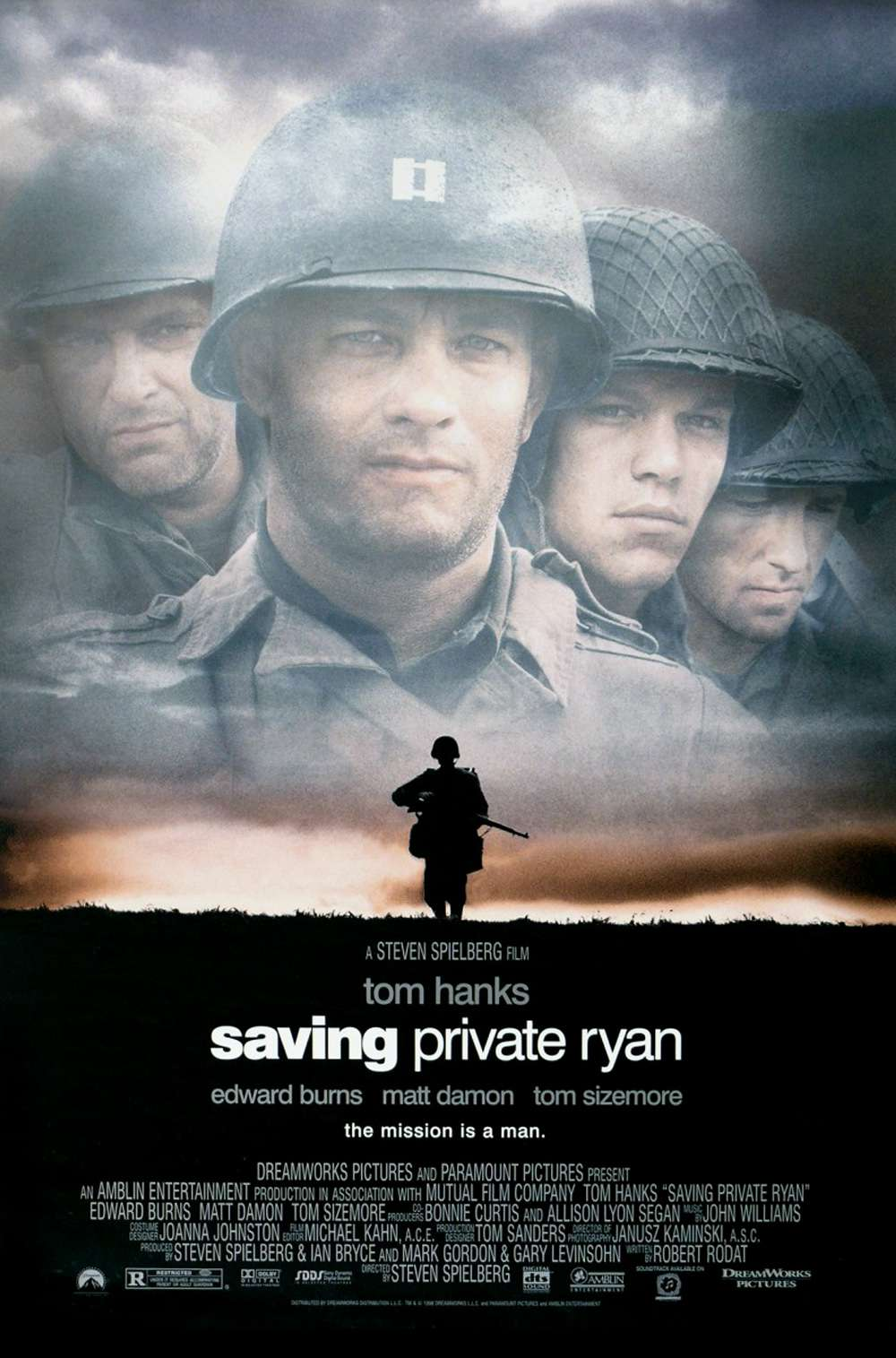 Poster for Saving Private Ryan (1998)
