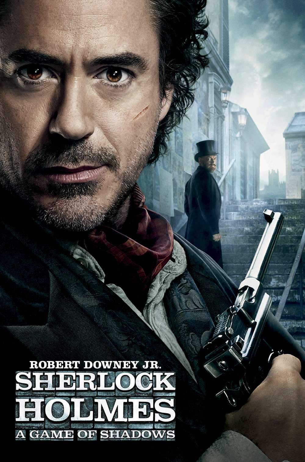 Poster for Sherlock Holmes: A Game of Shadows (2011)