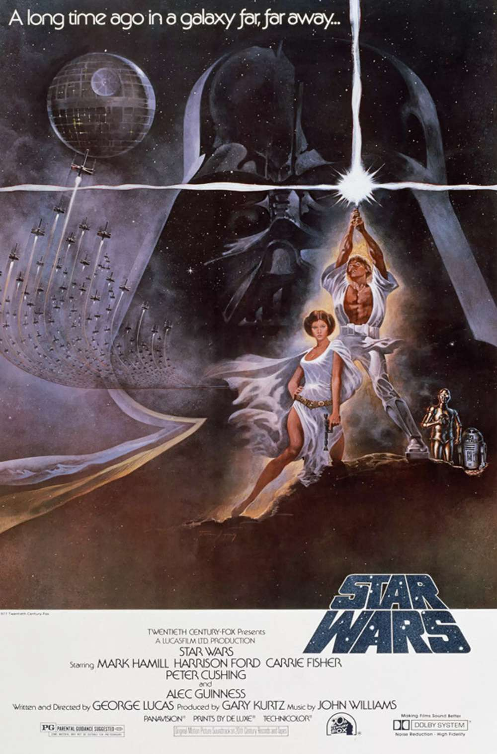 Poster for Star Wars (1977)