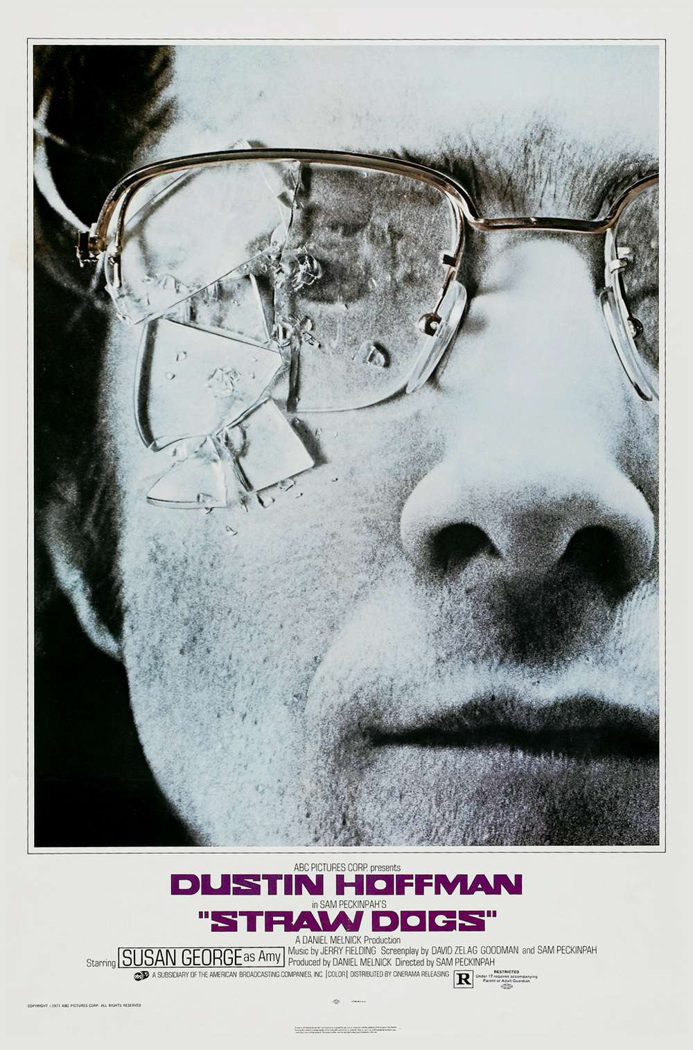 Poster for Straw Dogs (1971)