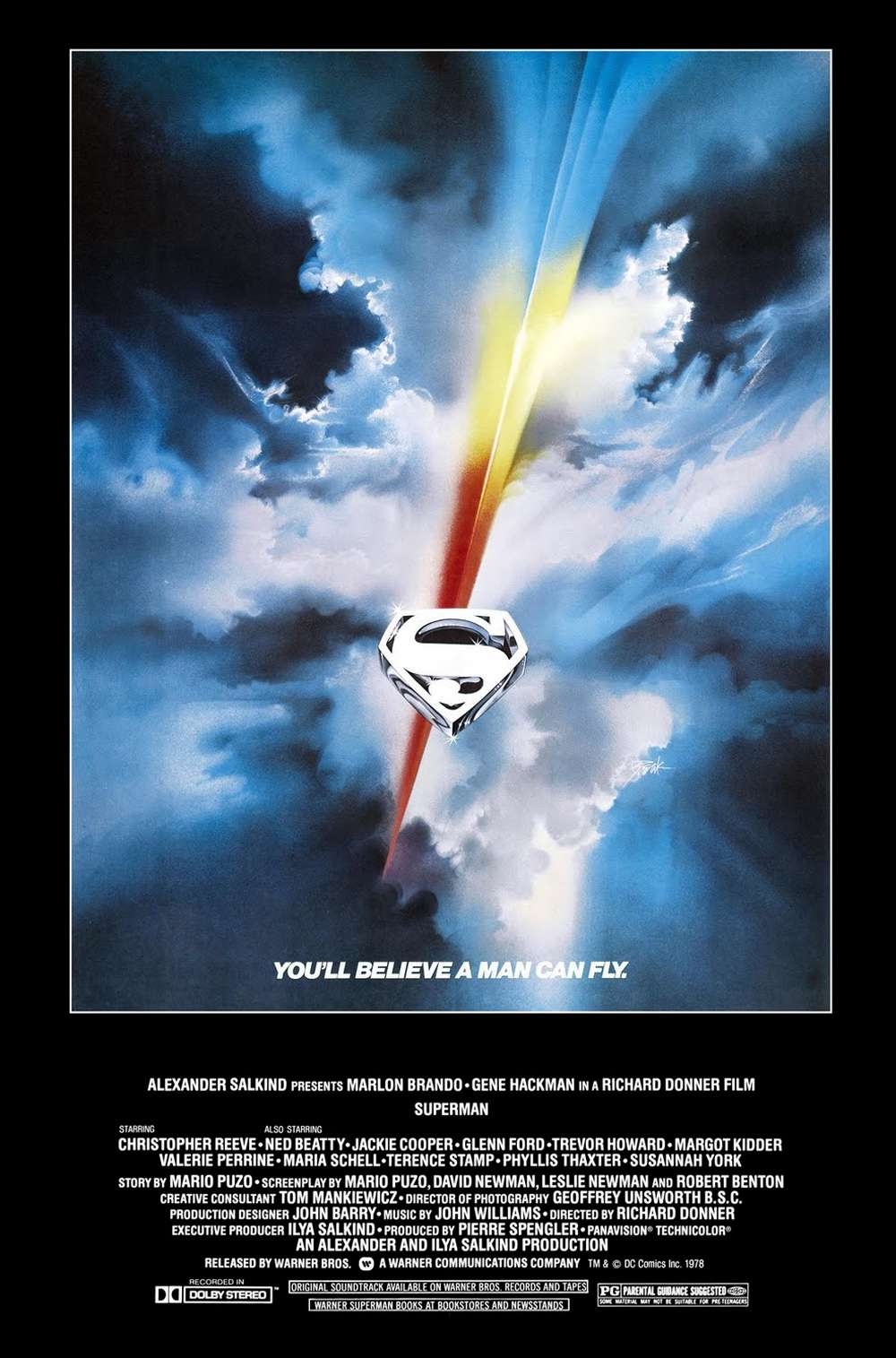 Poster for Superman (1978)