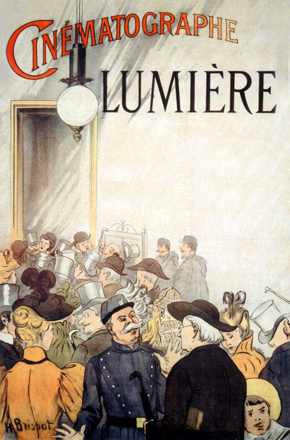 Poster for The Arrival of a Train at La Ciotat (1896)