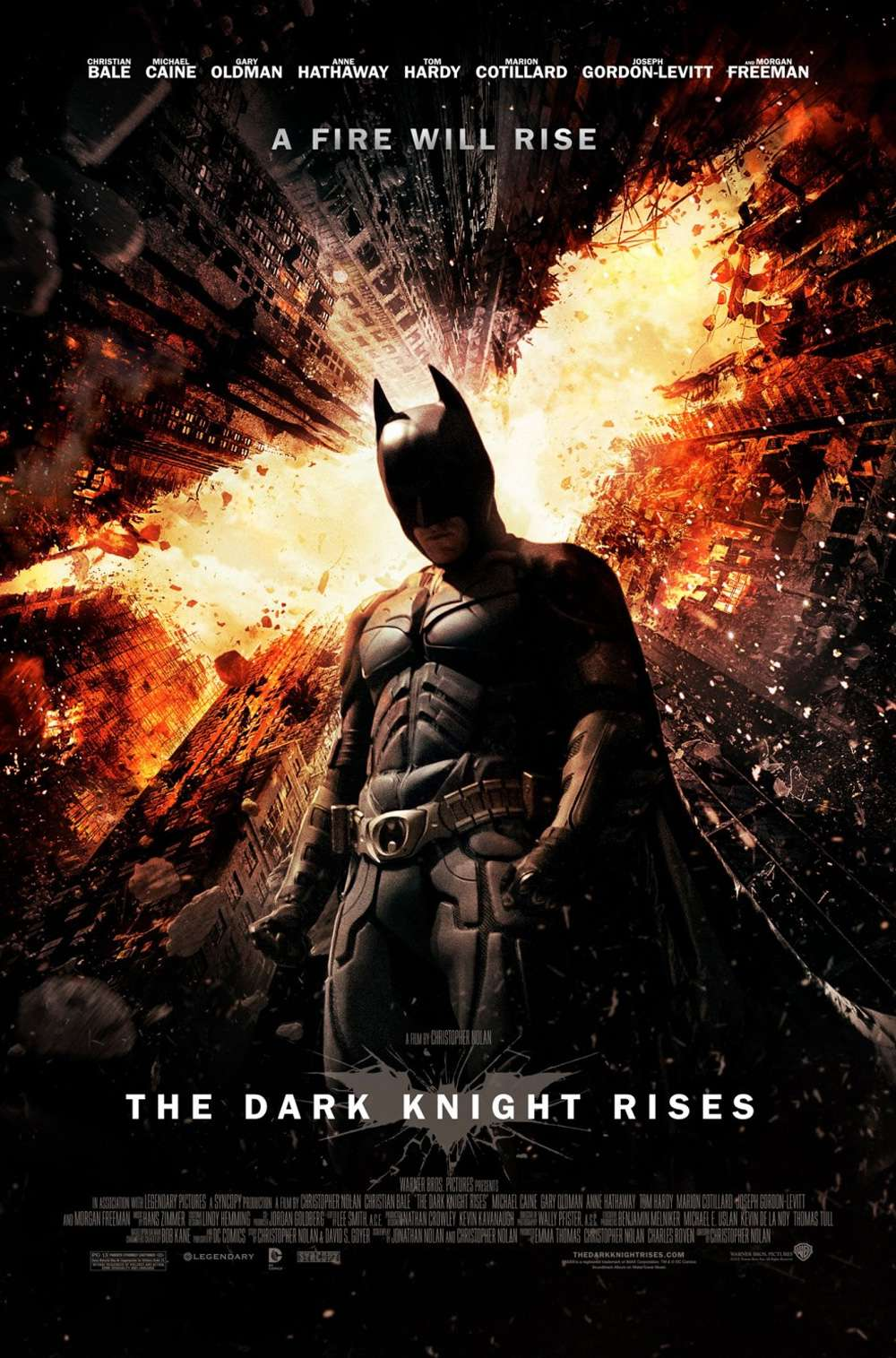 Poster for The Dark Knight Rises (2012)