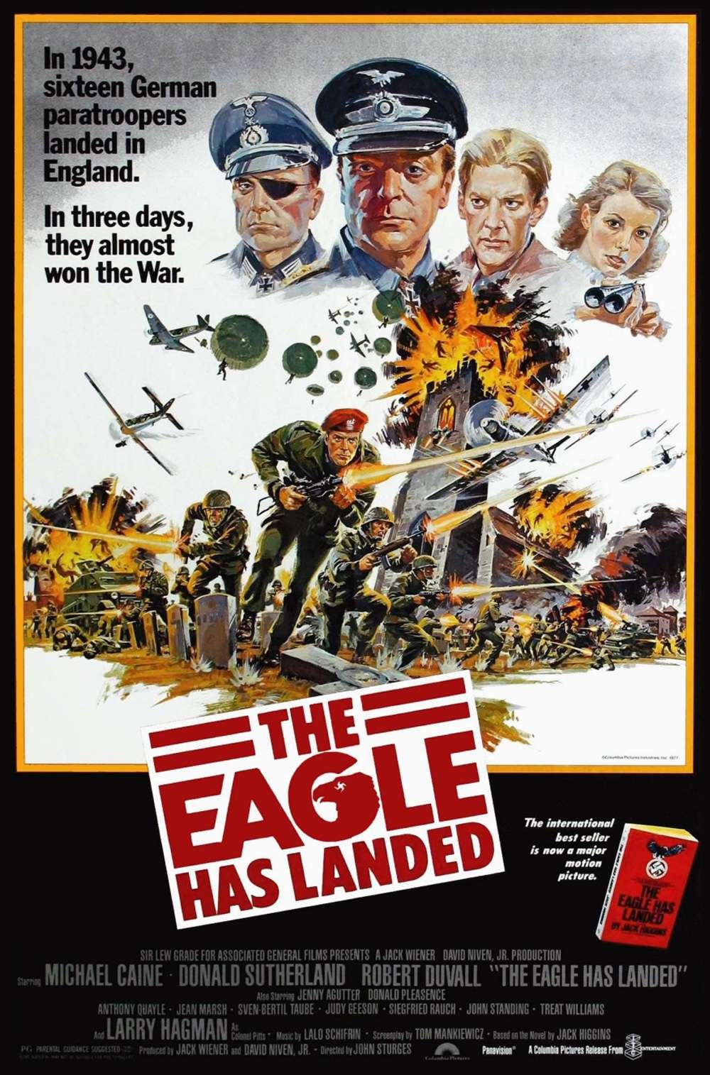 Poster for The Eagle Has Landed (1976)